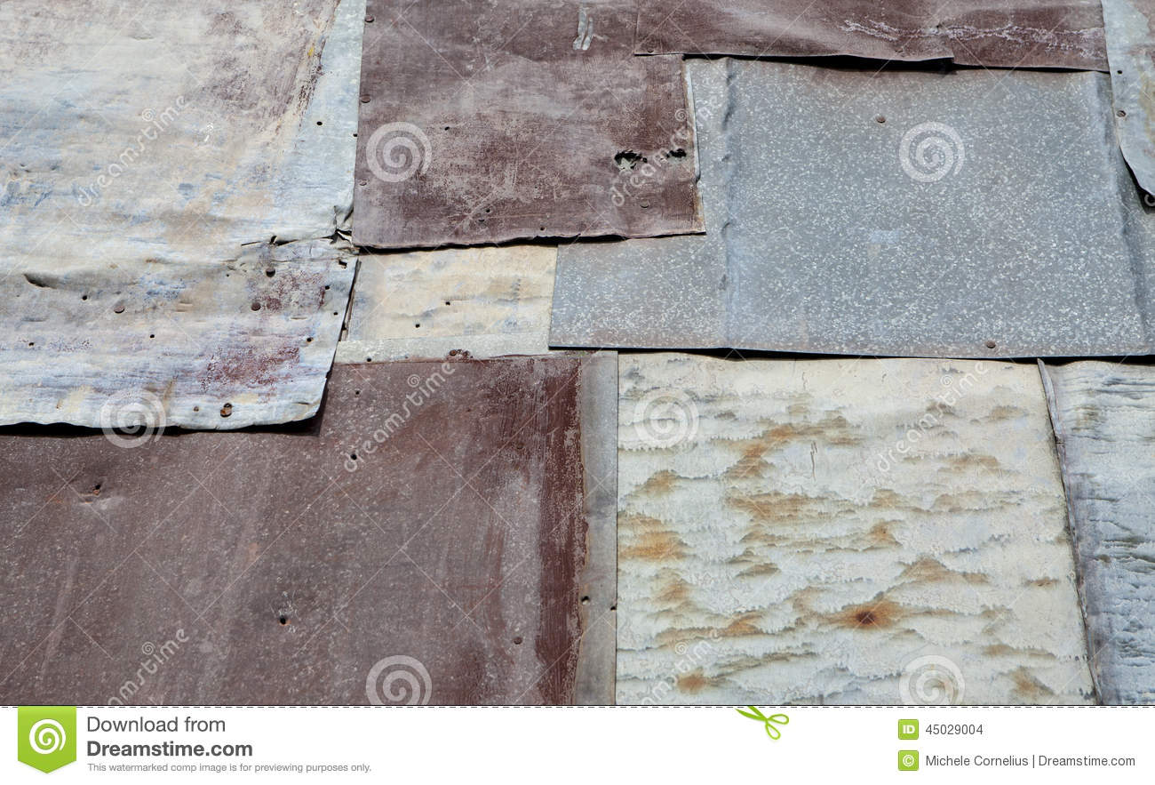 Antique Siding Stock Photo Image Of Overlapping Metal
