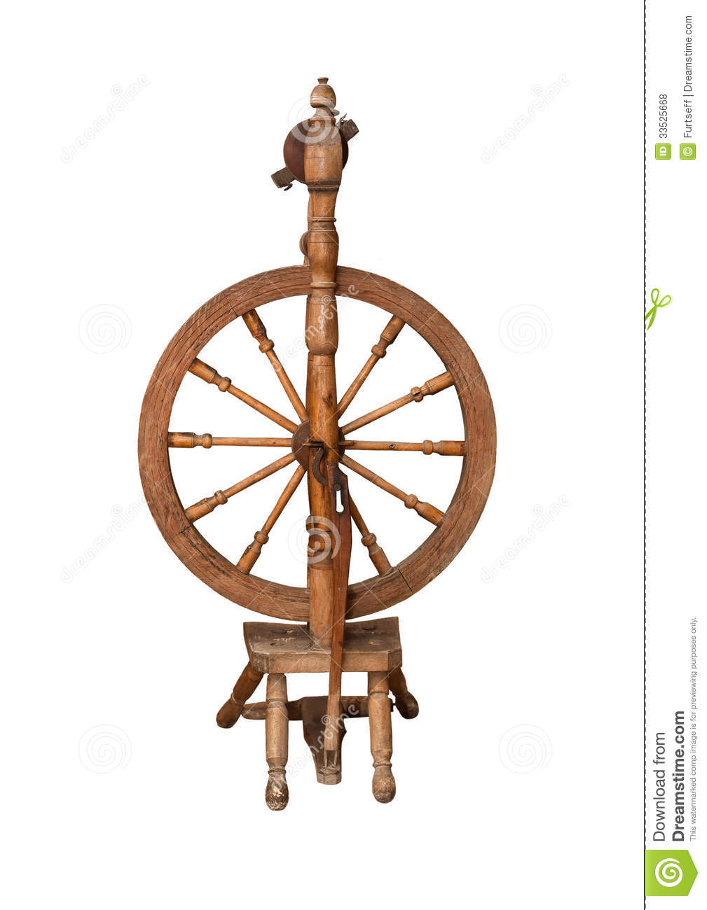 antique spinning wheel royalty free stock photos image. Black Bedroom Furniture Sets. Home Design Ideas