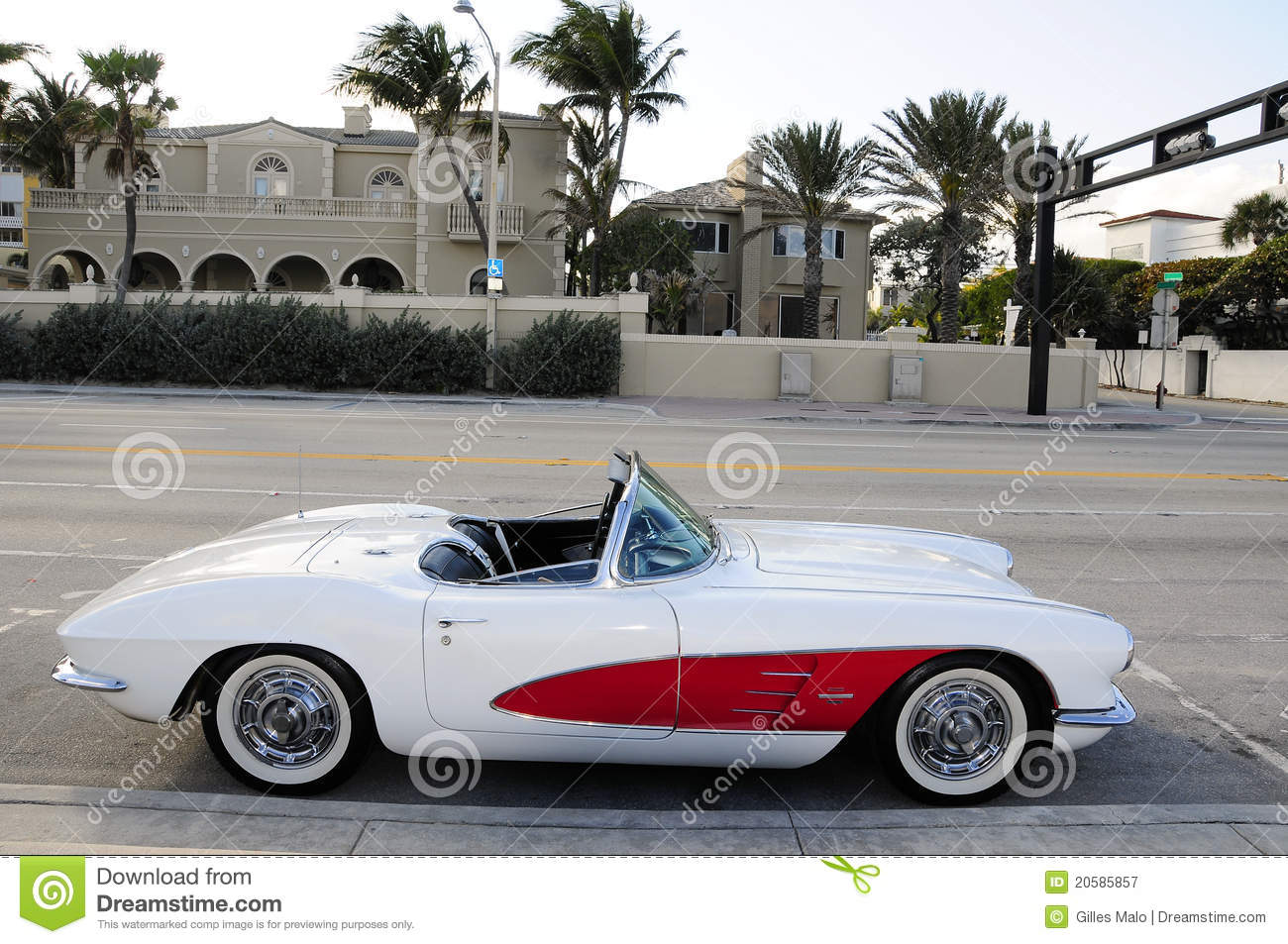 Antique Sports Car Royalty Free Stock Photography  Image: 20585857