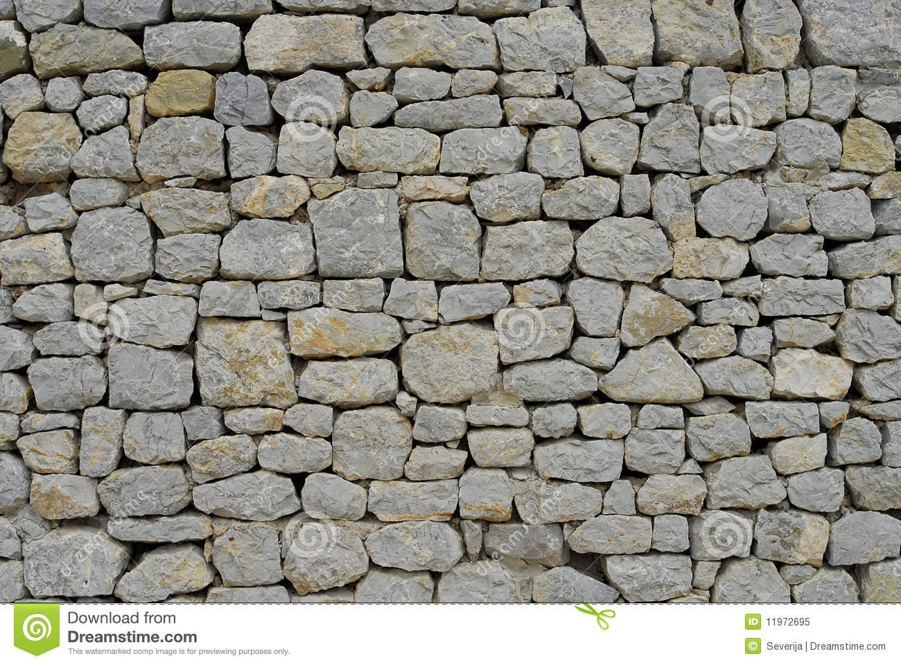 Vintage Stone Walls : Antique stone wall background stock image