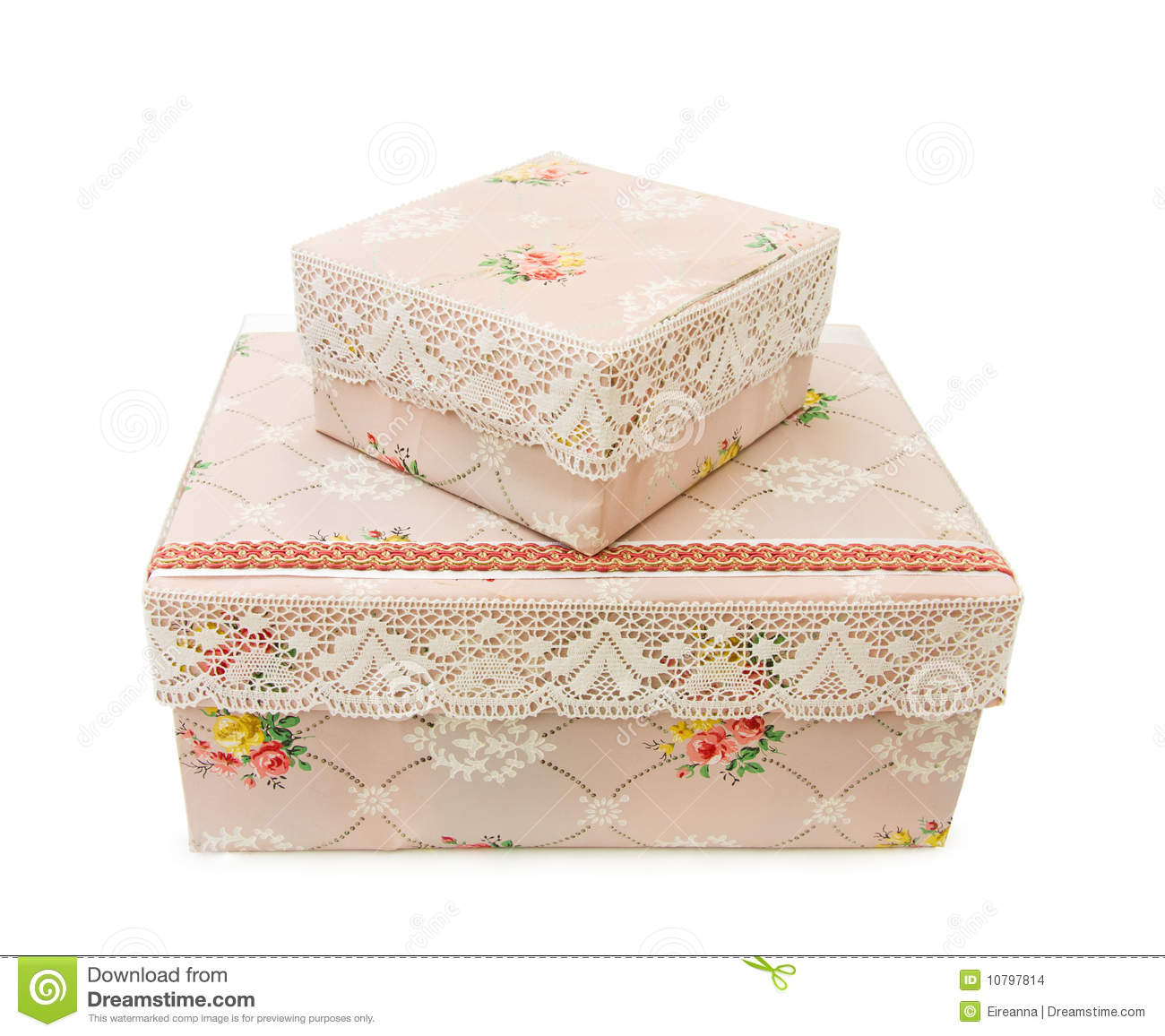 Royalty Free Stock Photo. Download Antique Storage Boxes ...