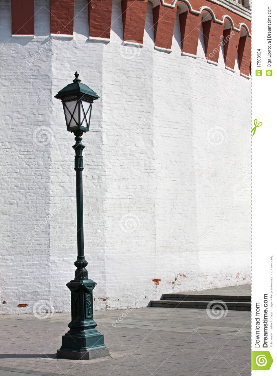 Antique Street Light Stock Photo Image Of Glass Lamp