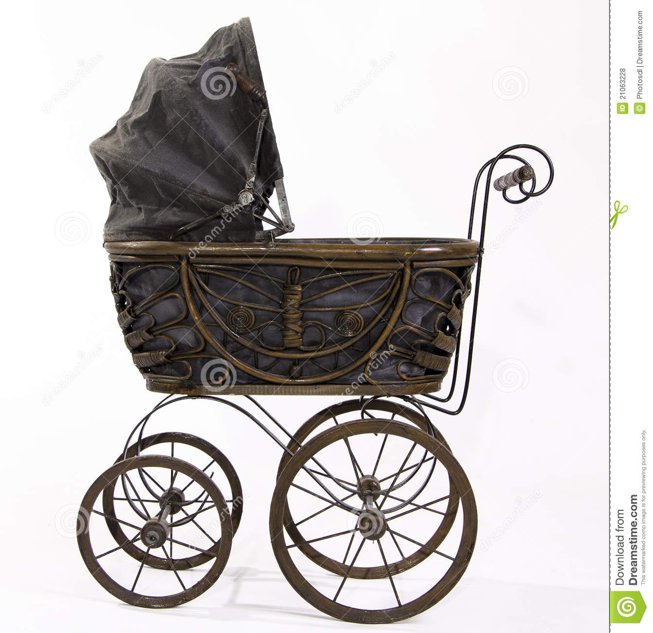 Antique Strollers Stock Photo Image Of Strollers Vintage