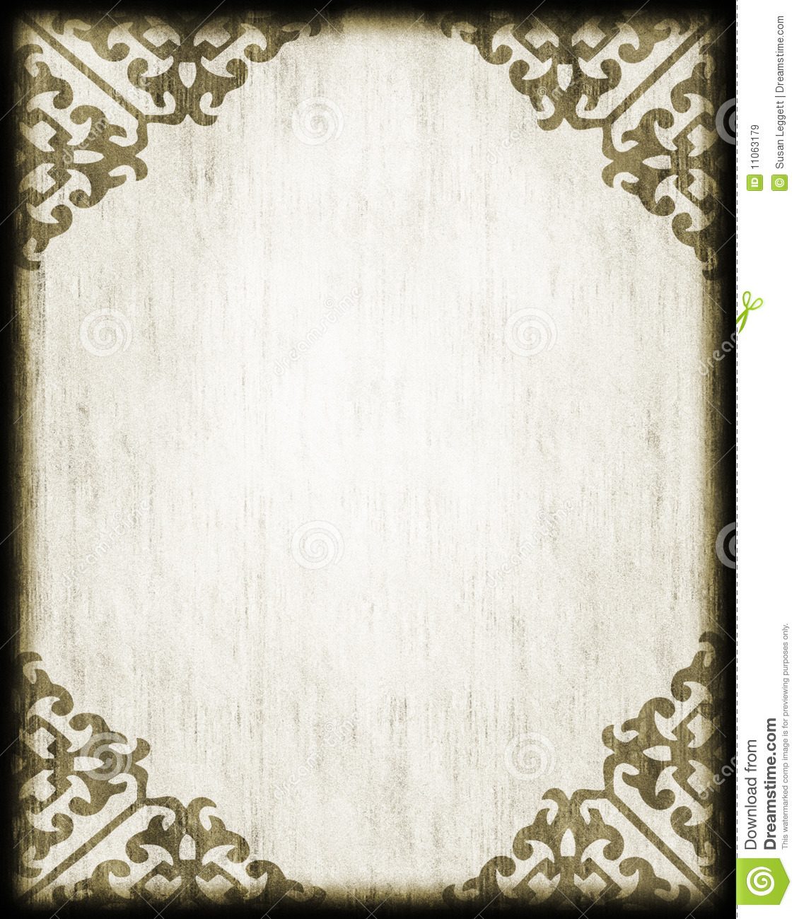 Antique Style Paper/ Lace Corners Royalty Free Stock Images ...