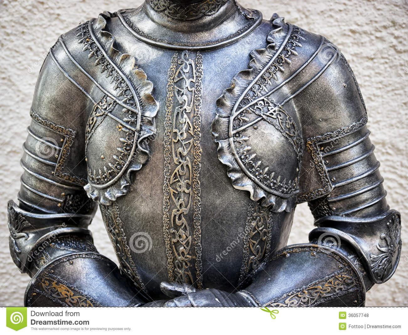 Antique Suit Of Armor Royalty Free Stock Photos - Image: 36057748