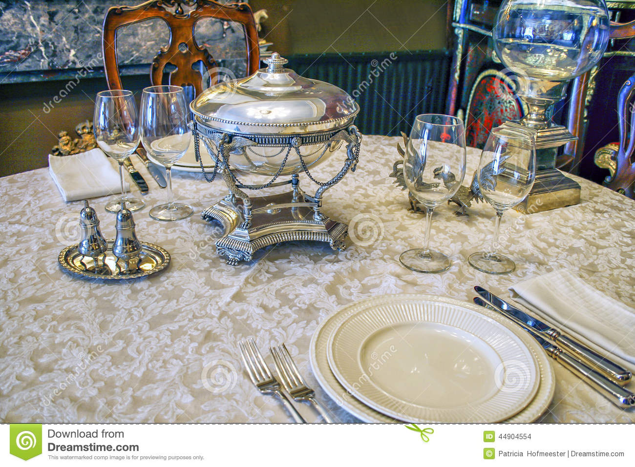Antique tableware & Antique tableware stock photo. Image of historical place - 44904554