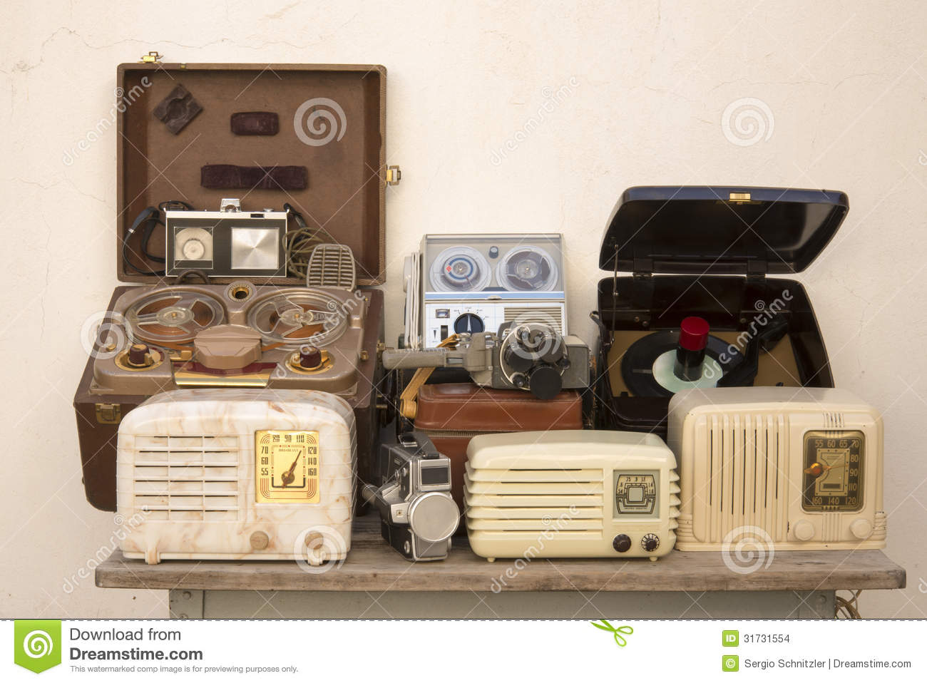 Antique Technology Stock Images