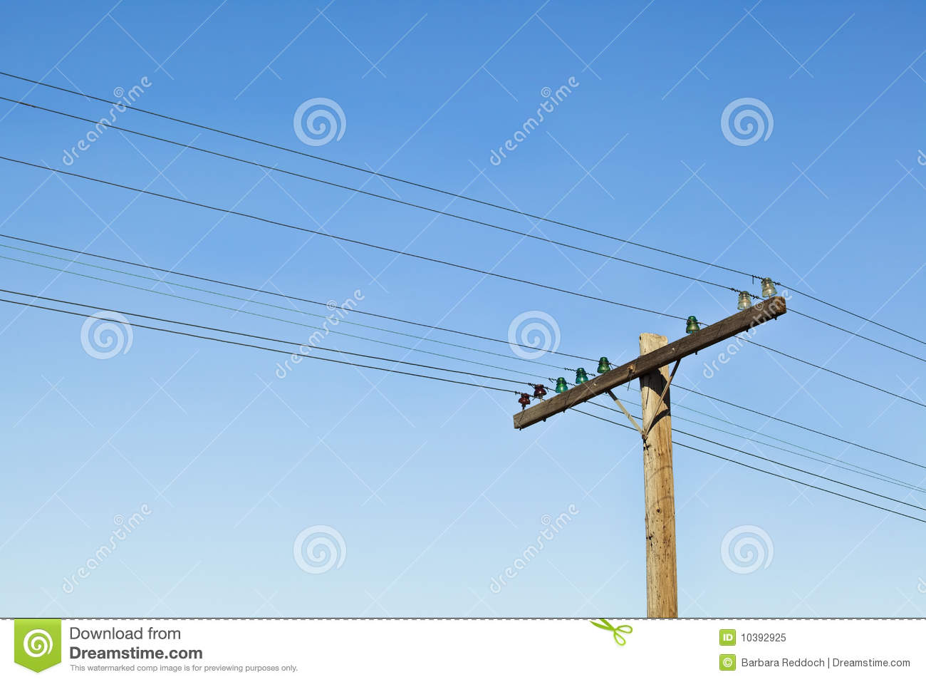 Antique Telephone Poles Background Stock Image - Image of lines