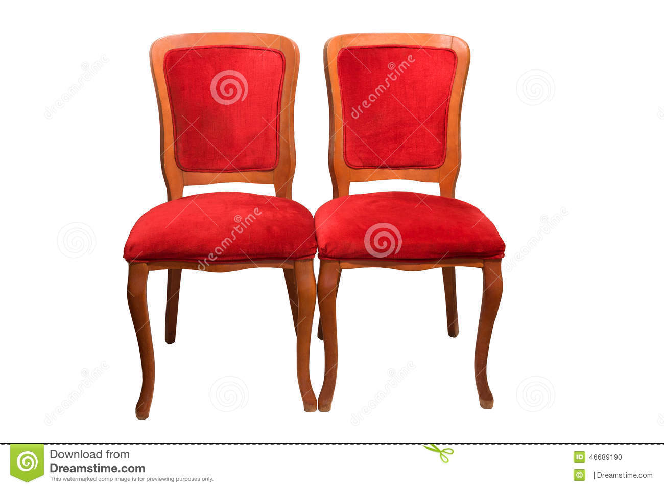 Antique theater chairs - Antique Theater Chairs Stock Photo