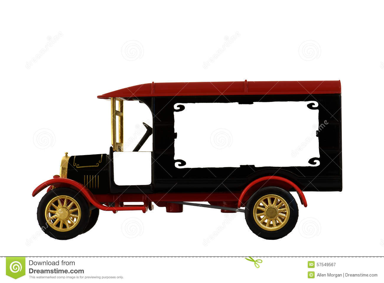 Antique Toy Truck Model 1926 Stock Photo Image 57549567
