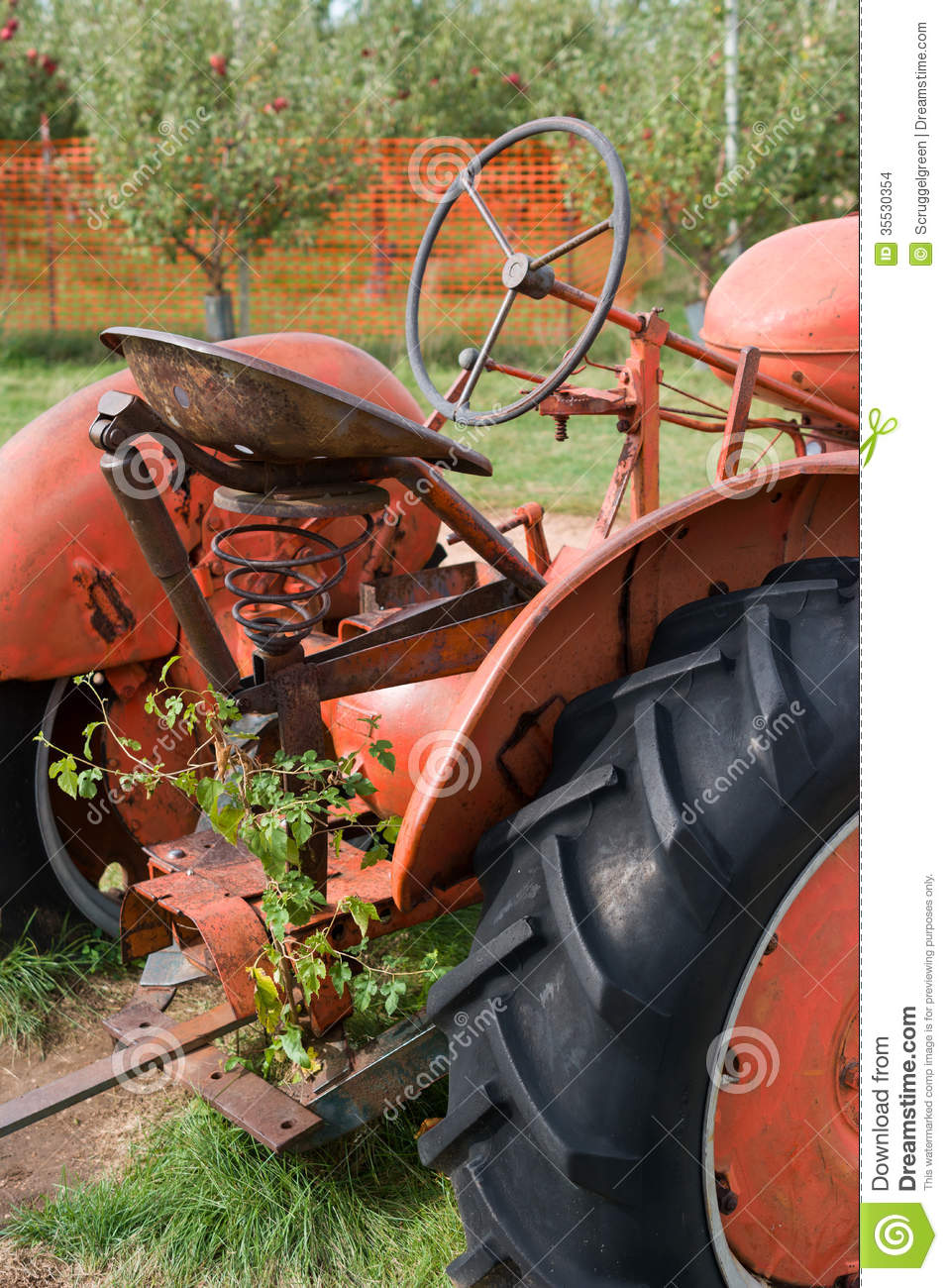 Old Time Tractor Seats : Antique tractor stock images image