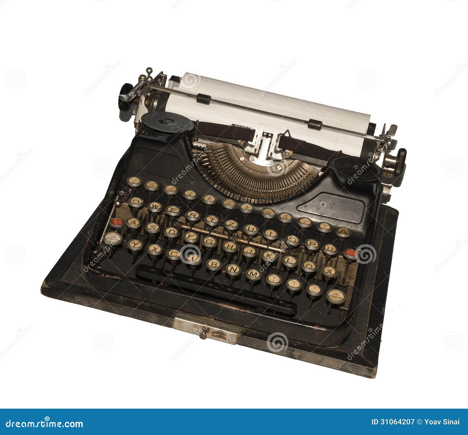 Antique Typewriter Royalty Free Stock Photography - Image ...