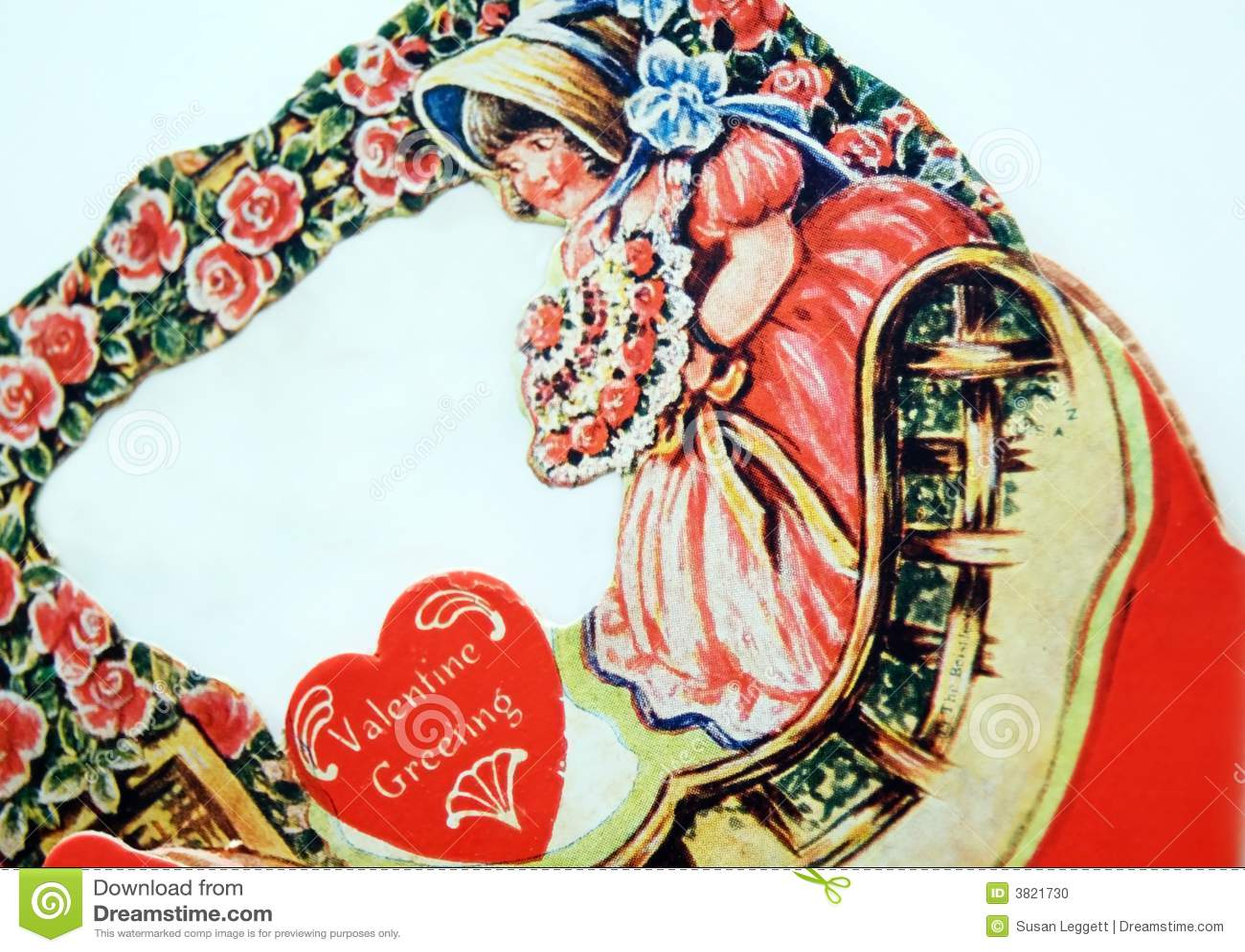 Antique valentine