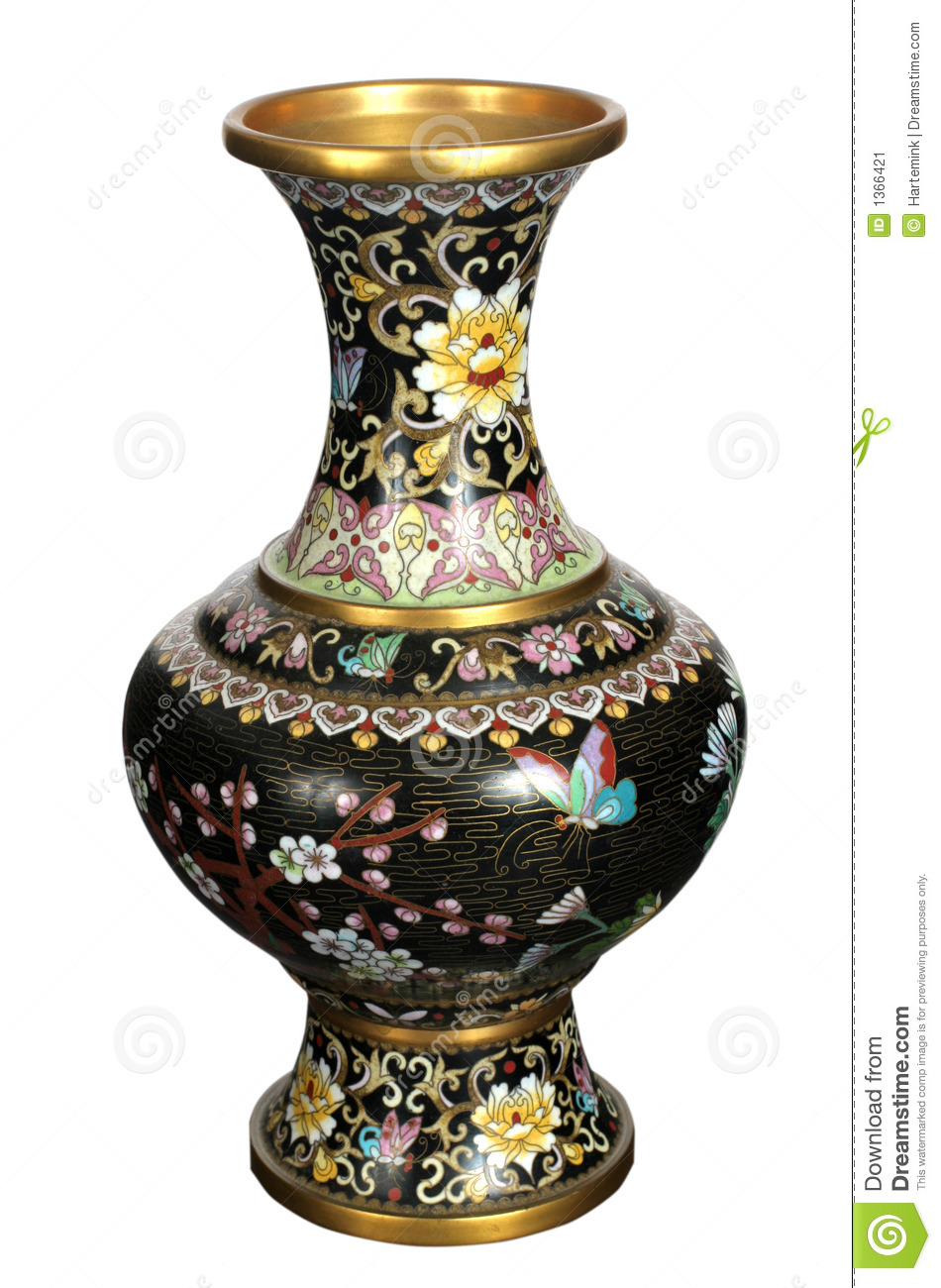 Antique Vase Stock Image Image Of Golden Beautiful Patterns 1366421