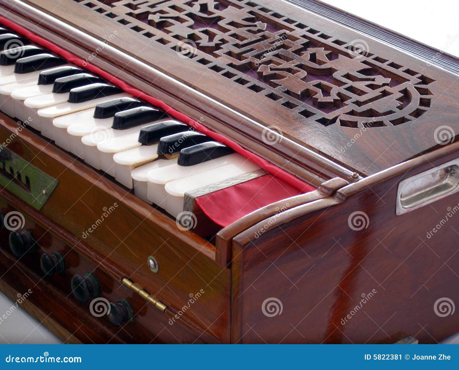 Antique vintage harmonium stock image  Image of horizontal
