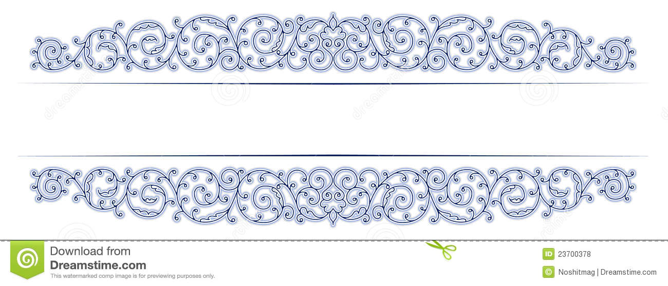 antique vintage lace border stock vector illustration of pattern