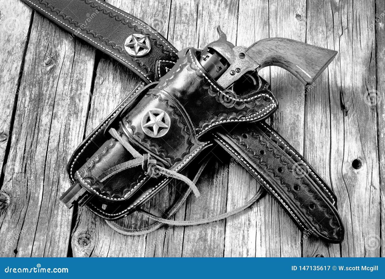Antique Western pistol stock image  Image of cowboy - 147135617