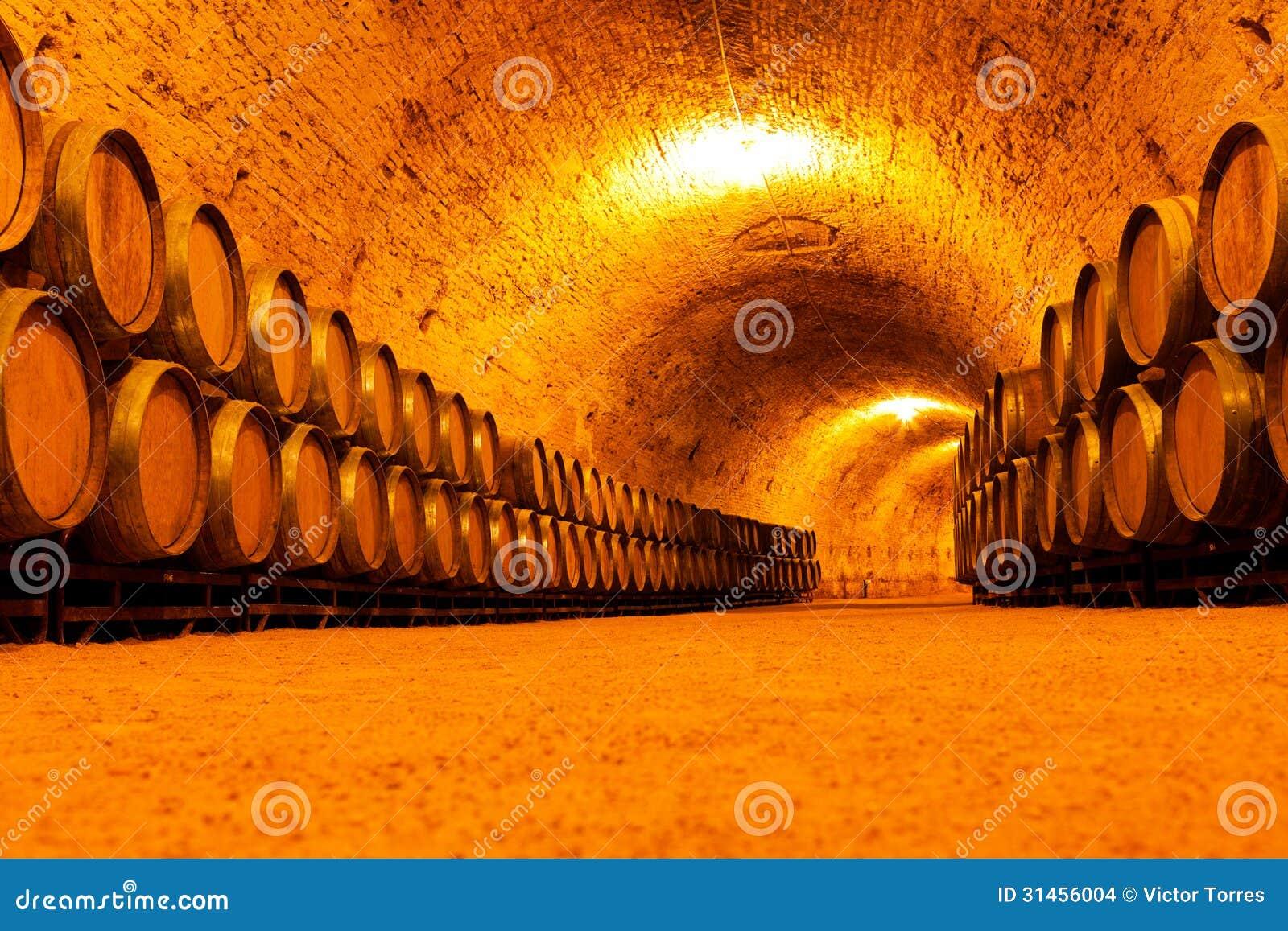 Antique Wine Cellar