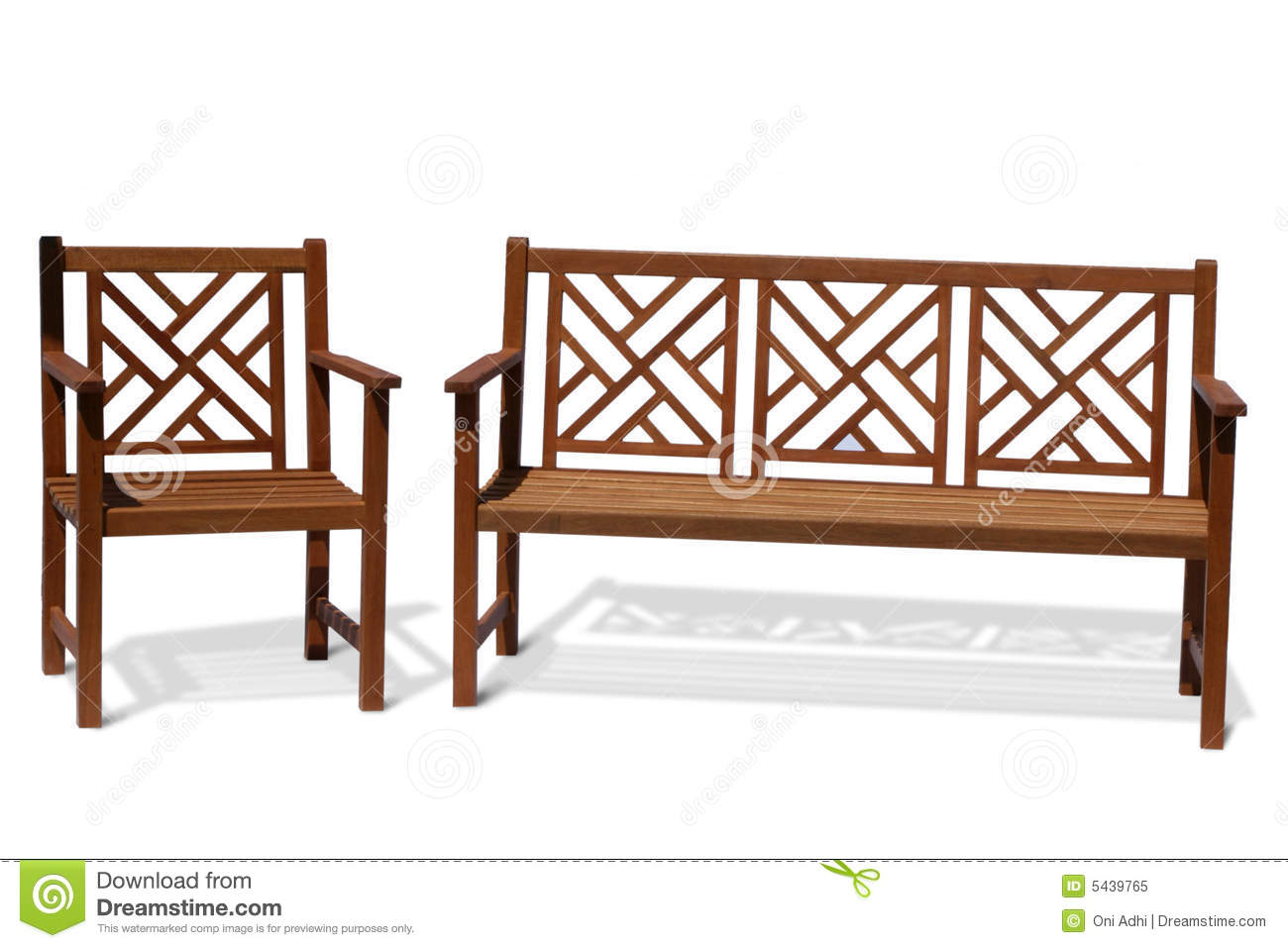 Antique Wood Bench Royalty Free Stock Photo Image 5439765