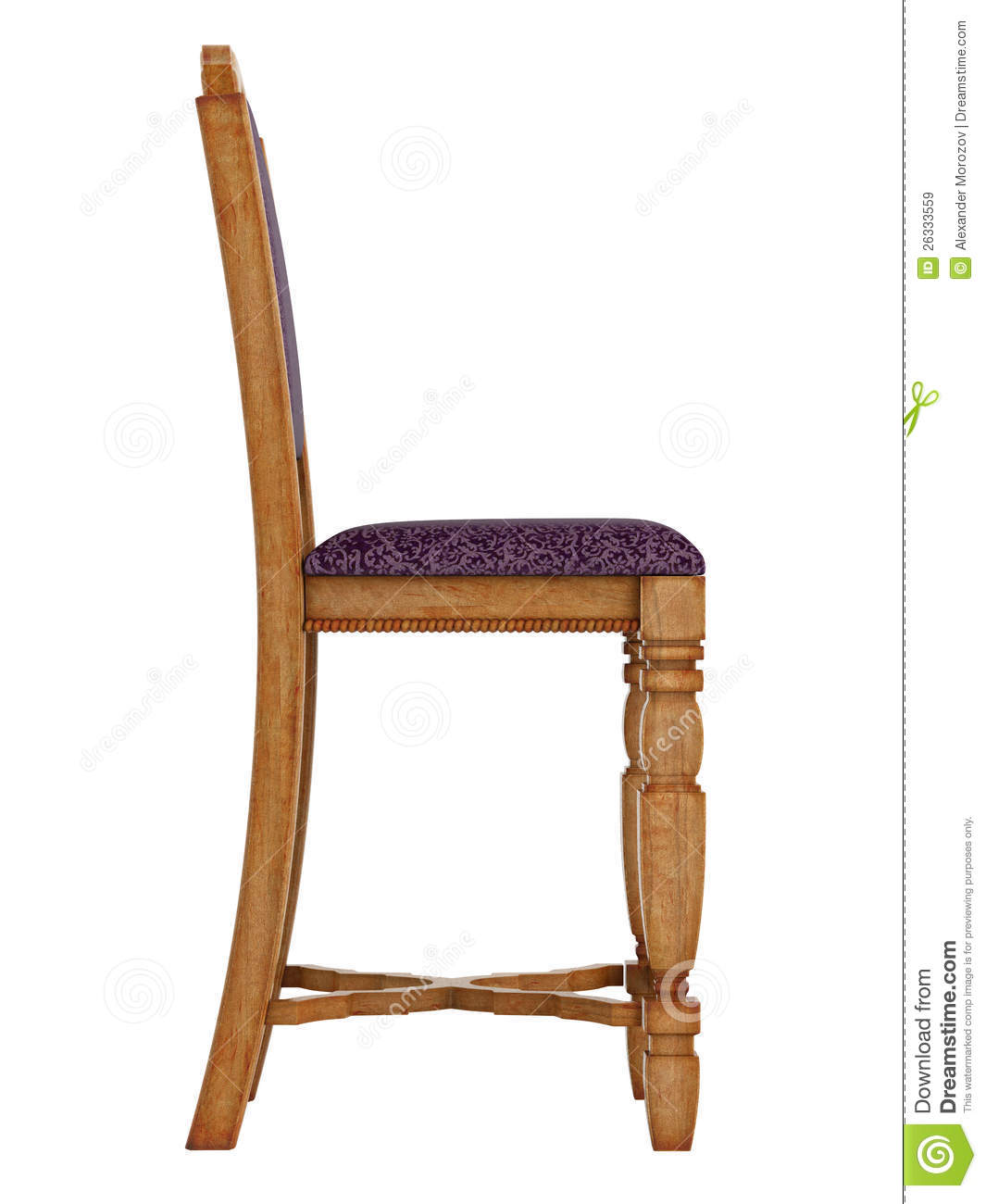 Superb img of Antique Wooden Chair Royalty Free Stock Images Image: 26333559 with #82A229 color and 1065x1300 pixels