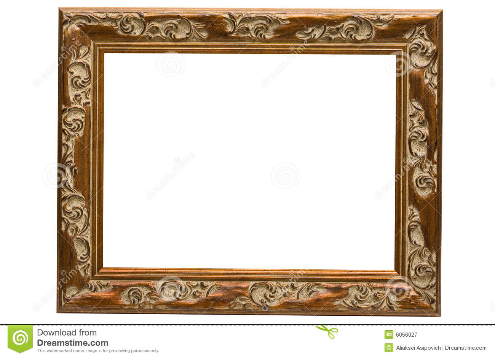 Vintage Wood Frame : Antique Wood Frames