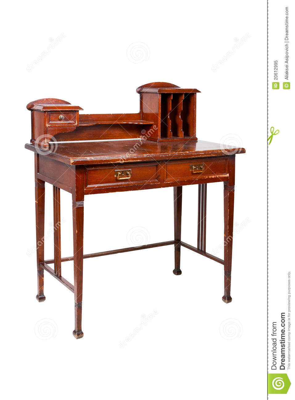 Download Antique Writing Desk, Table, Isolated Stock Image - Image of  writing, desk - Antique Writing Desk, Table, Isolated Stock Image - Image Of Writing