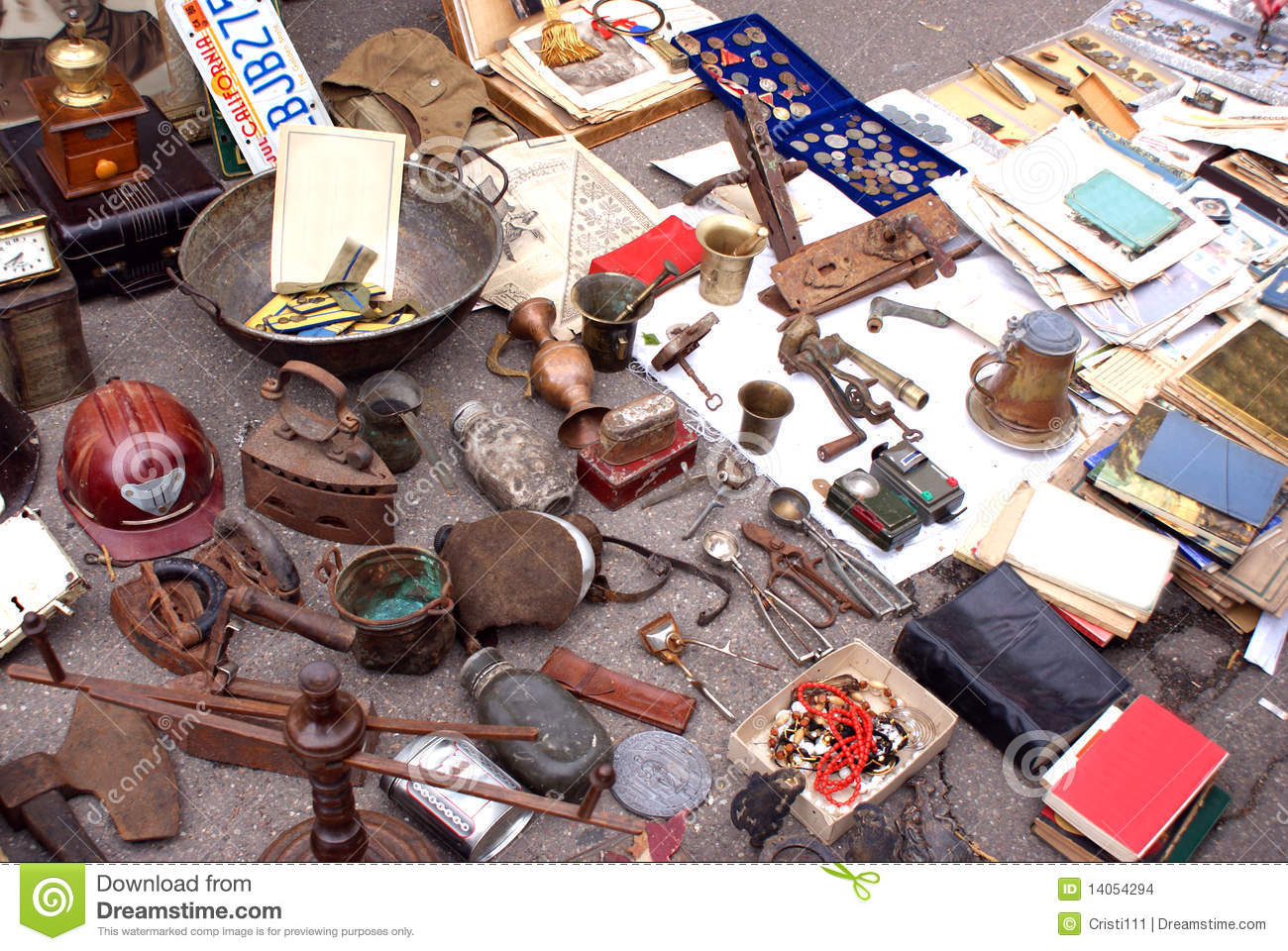 Antiques for sale stock photo. Image of industry, sell - 14054294