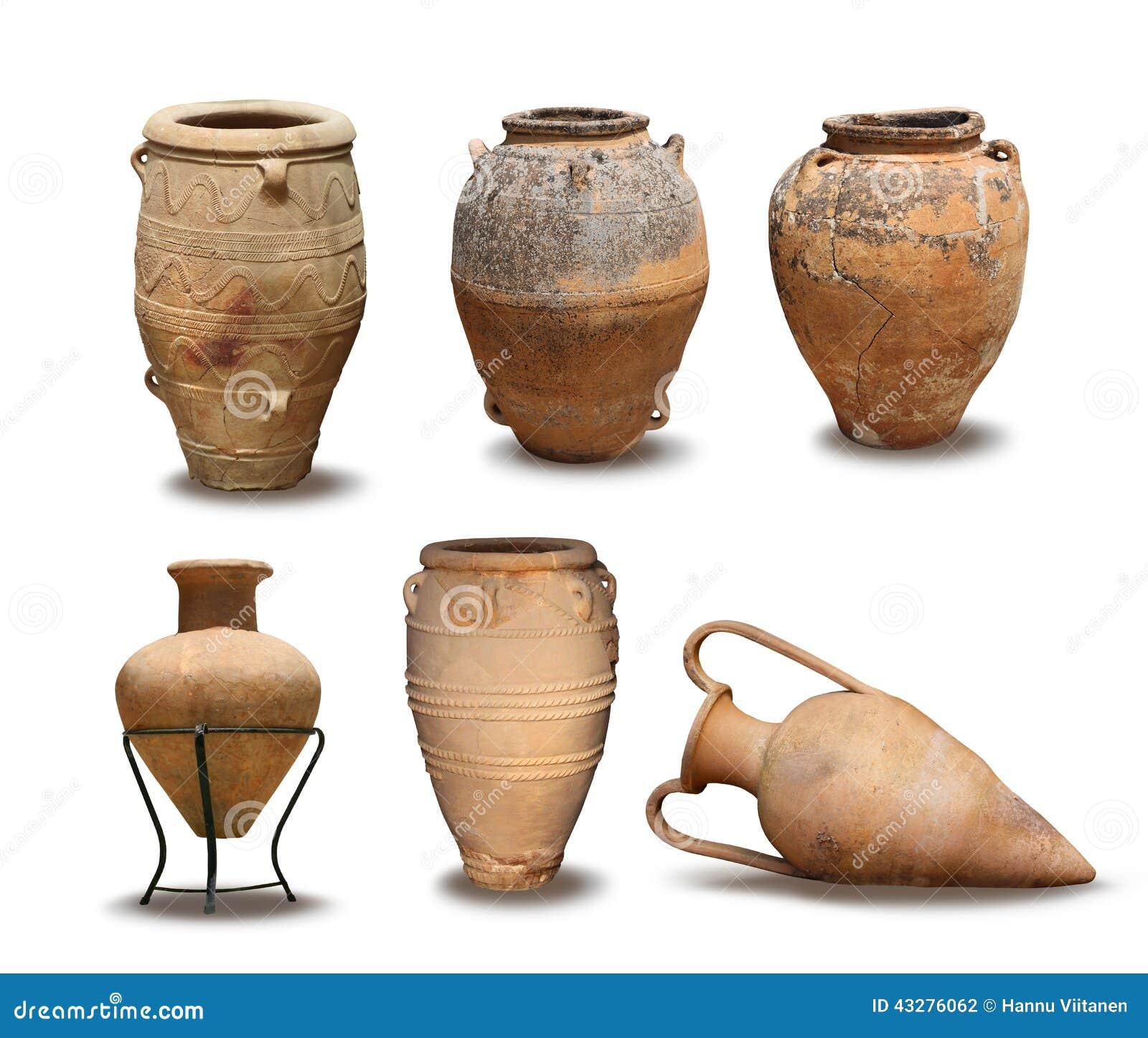 Antiquiteit en Minoan-vaasinzameling