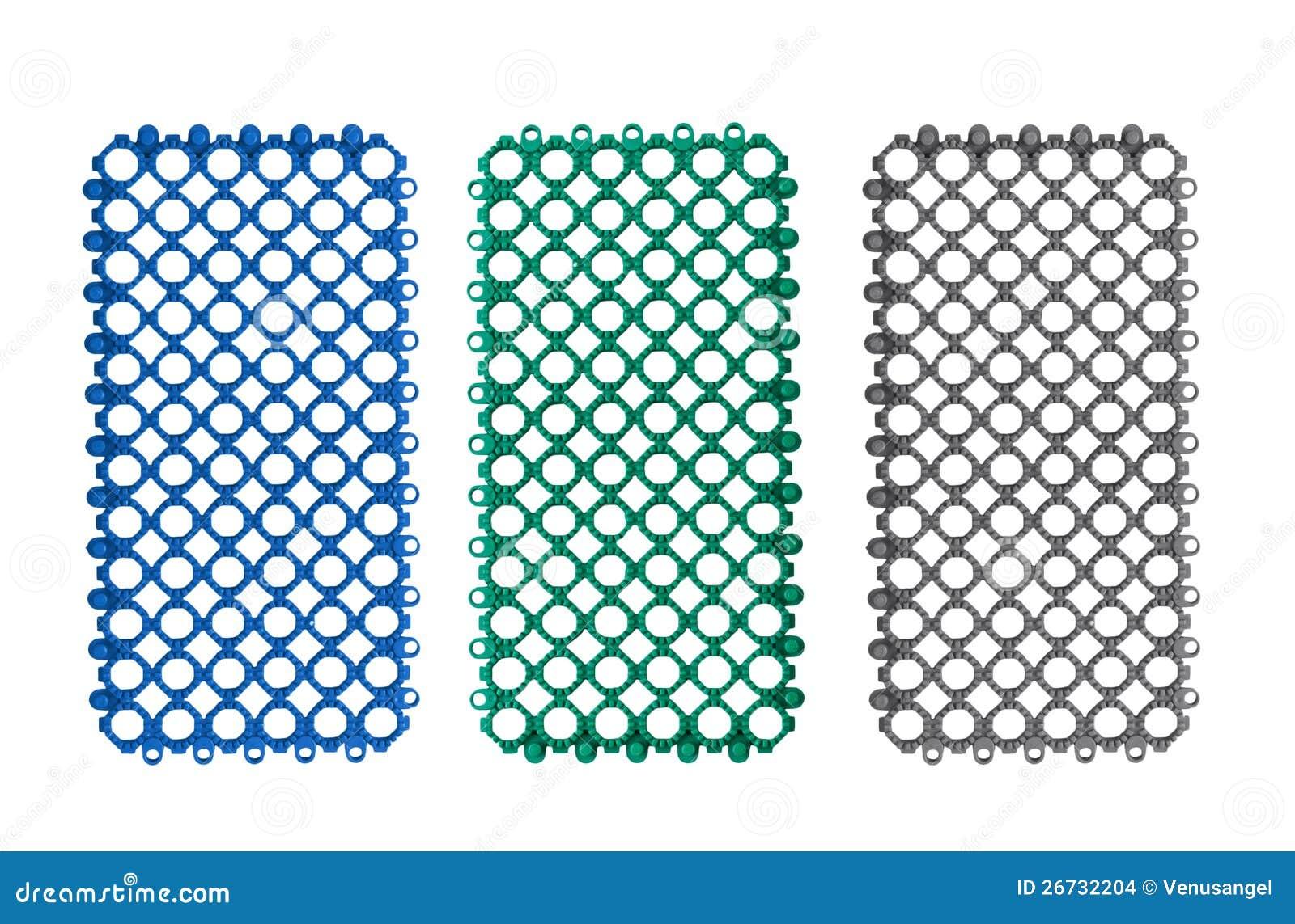 Antislip plastic tegels voor badkamers stock afbeeldingen afbeelding 26732204 - Mat tegels ...