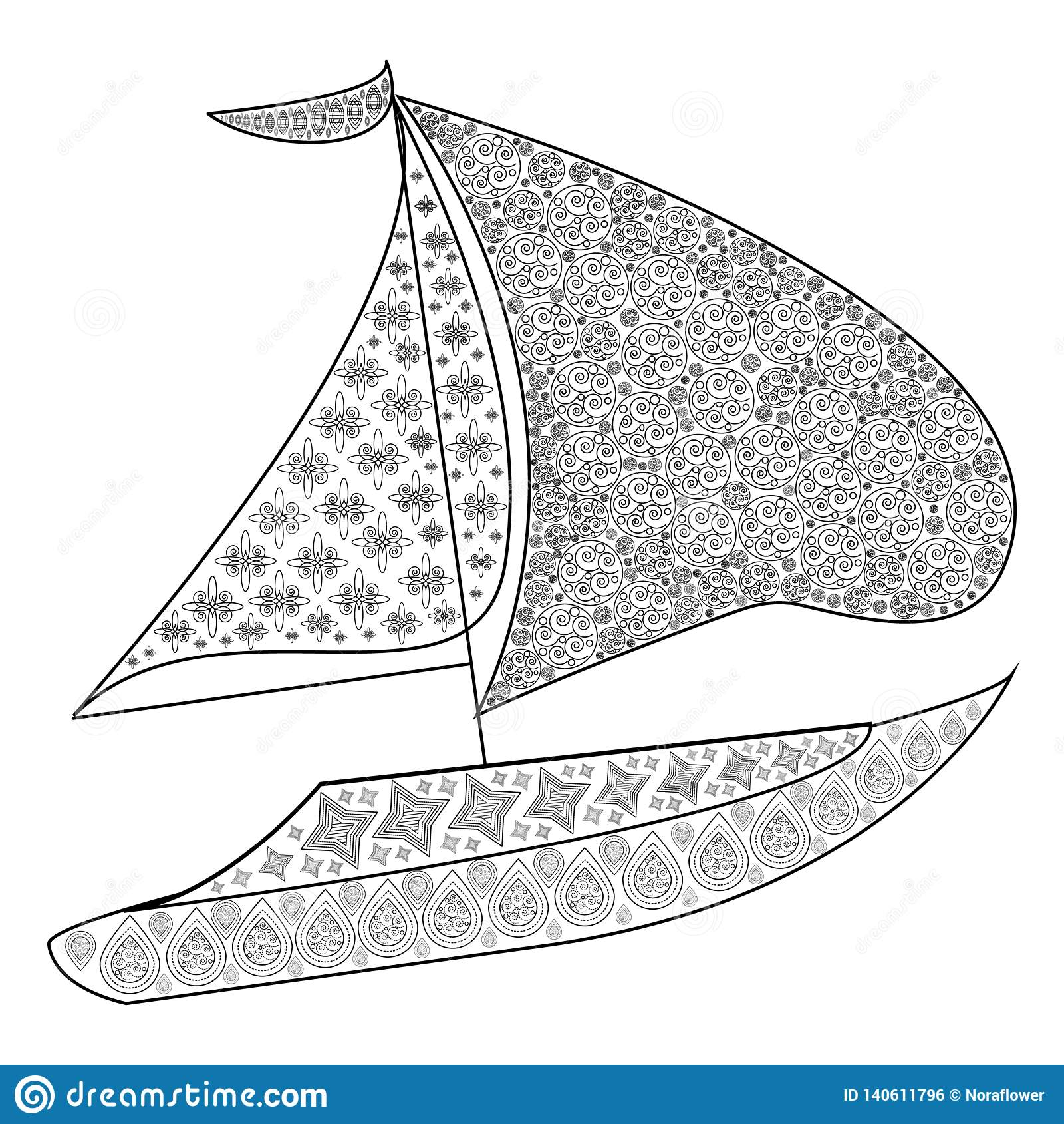 Yacht Coloring Stock Illustrations 342 Yacht Coloring Stock Illustrations Vectors Clipart Dreamstime