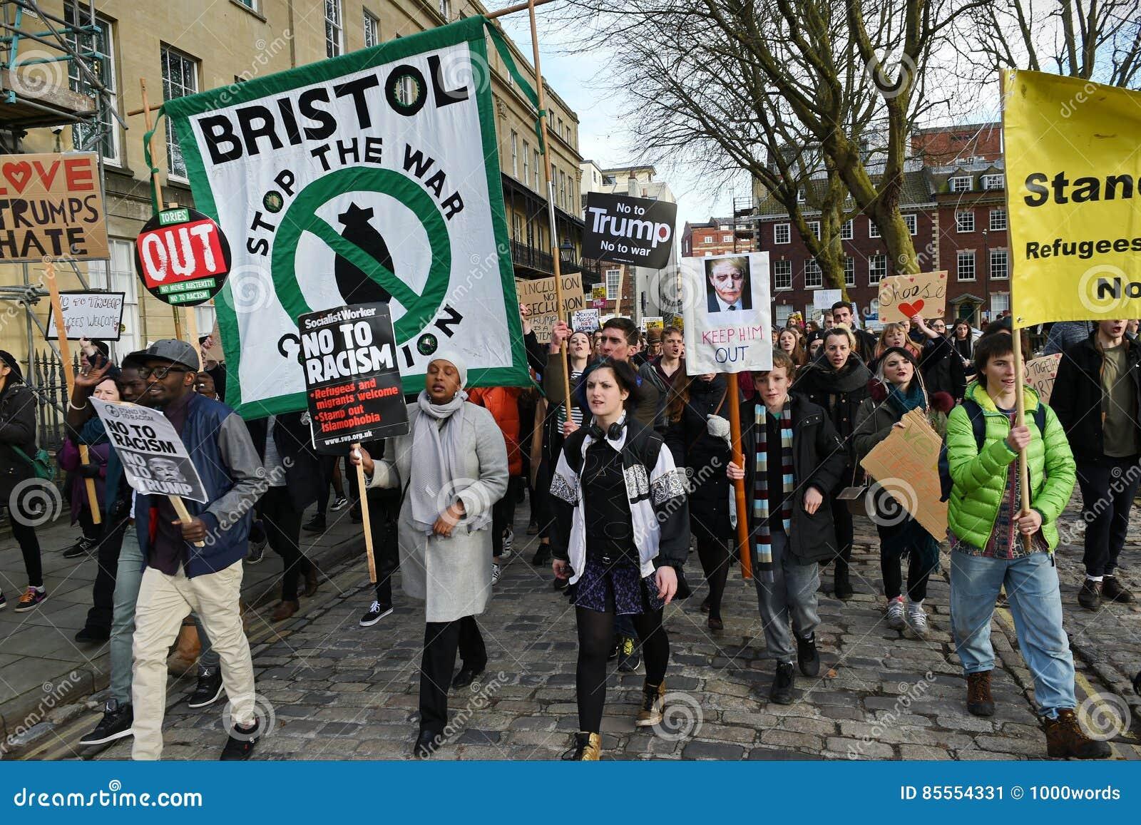 Antitrumpf-Protest