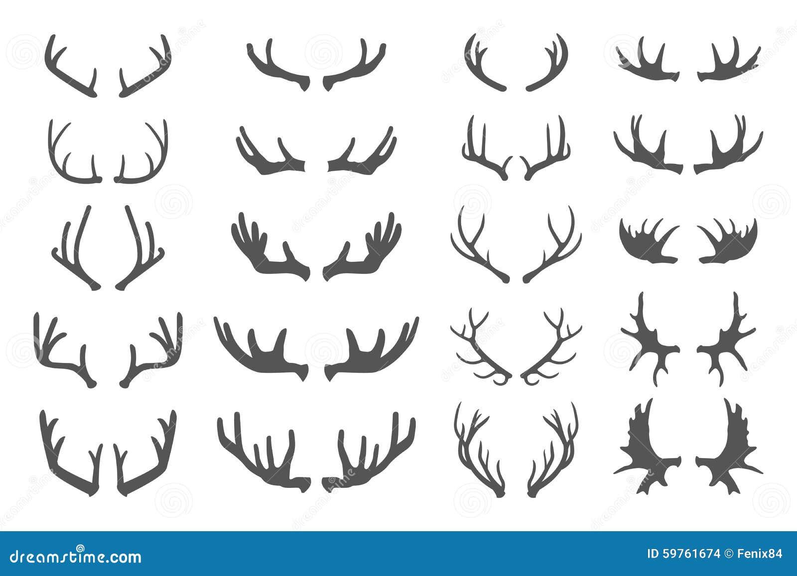 Antlers оленей