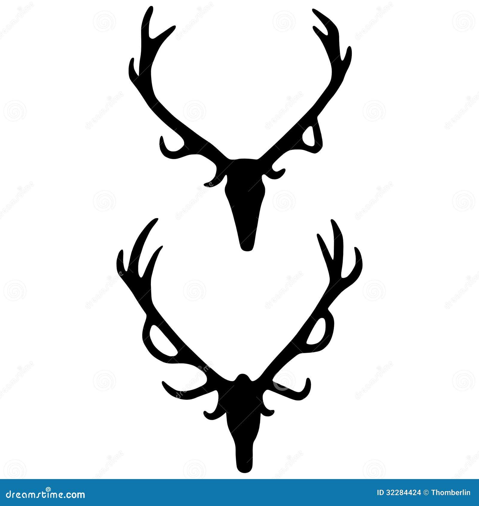 images elk antler silhouette