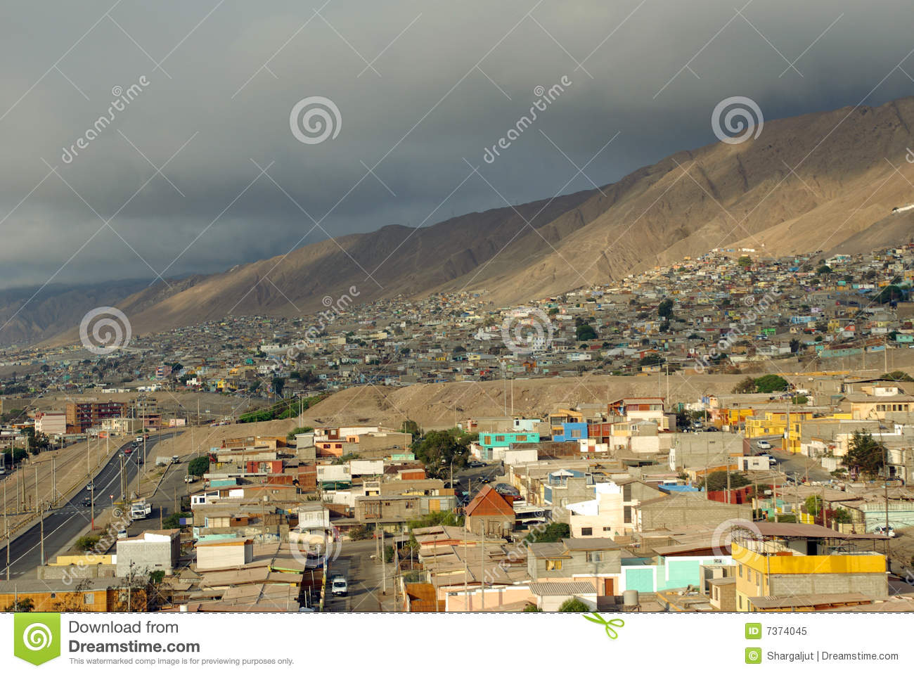 Antofagasta Chile  city photos gallery : Antofagasta, Chile Royalty Free Stock Photo Image: 7374045