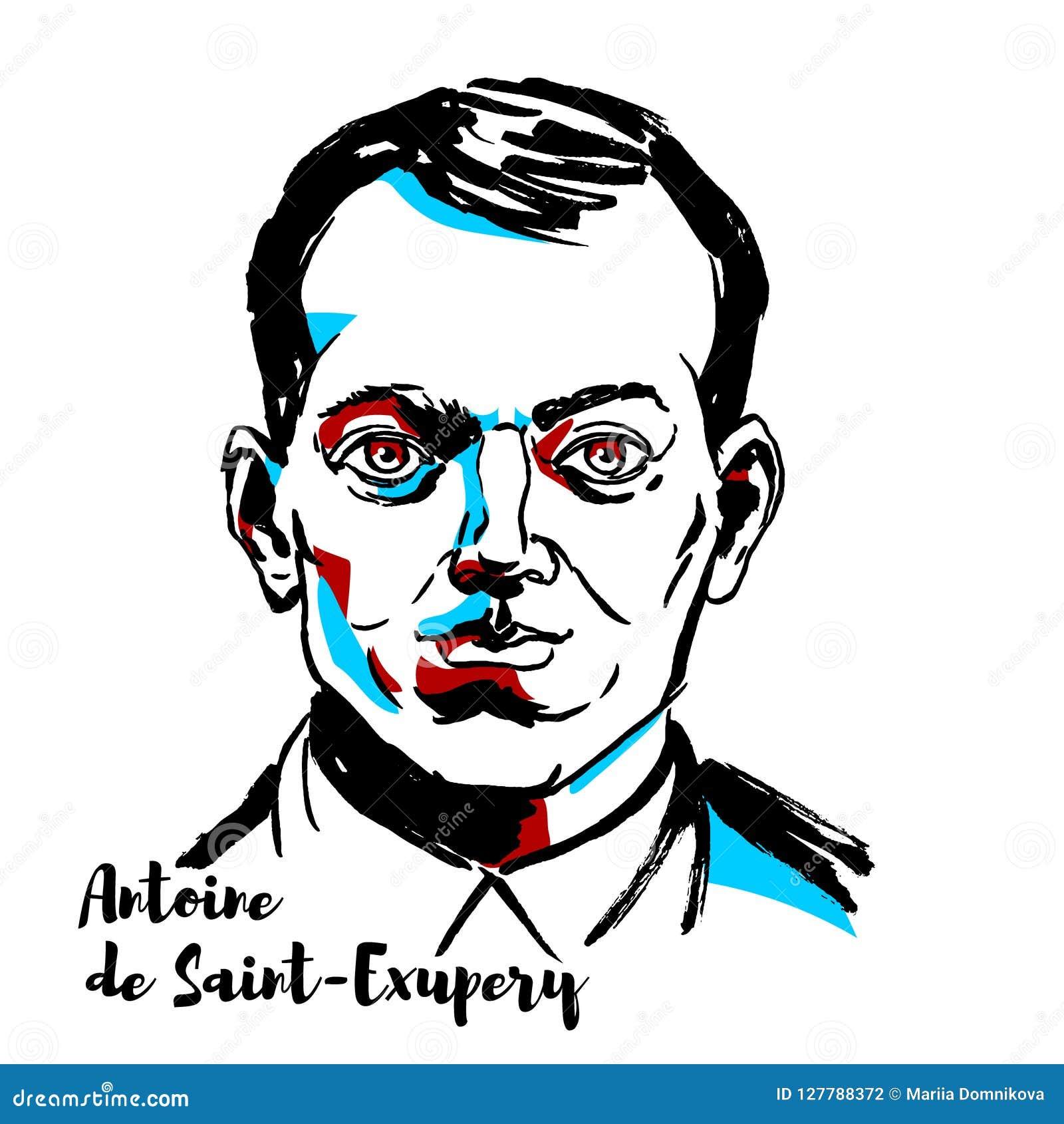 Antoine De święty portret