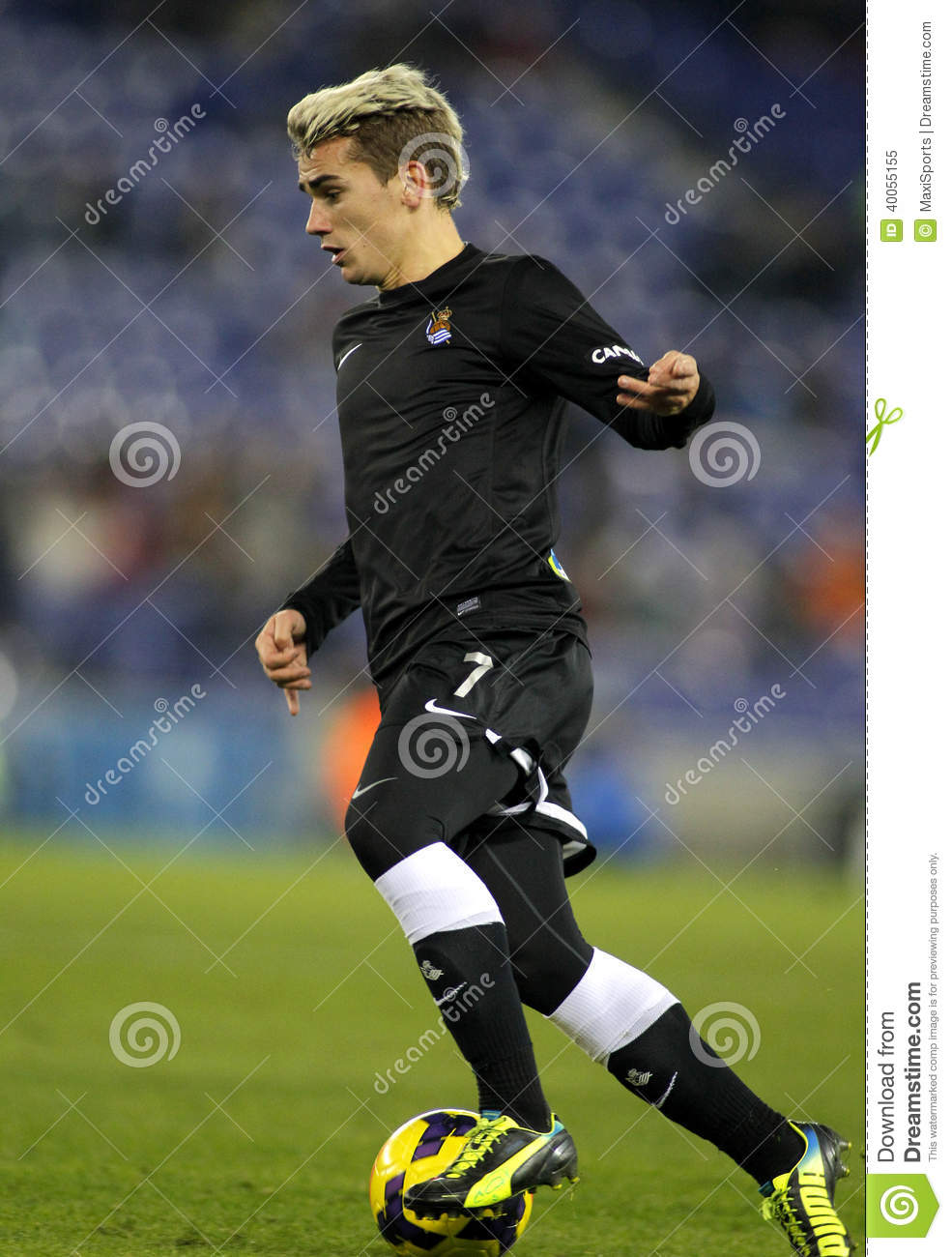 official photos 1bb4b 505cb Antoine Griezmann Of Real Sociedad Editorial Image - Image ...