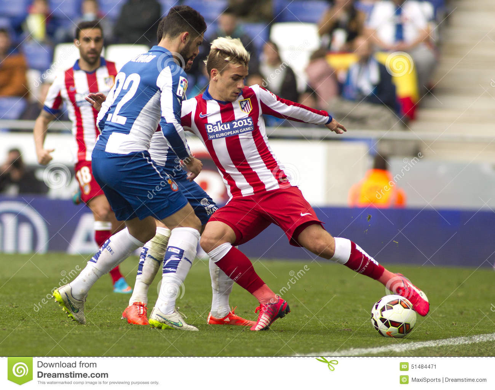 Antoine Griezmann van Atletico Madrid