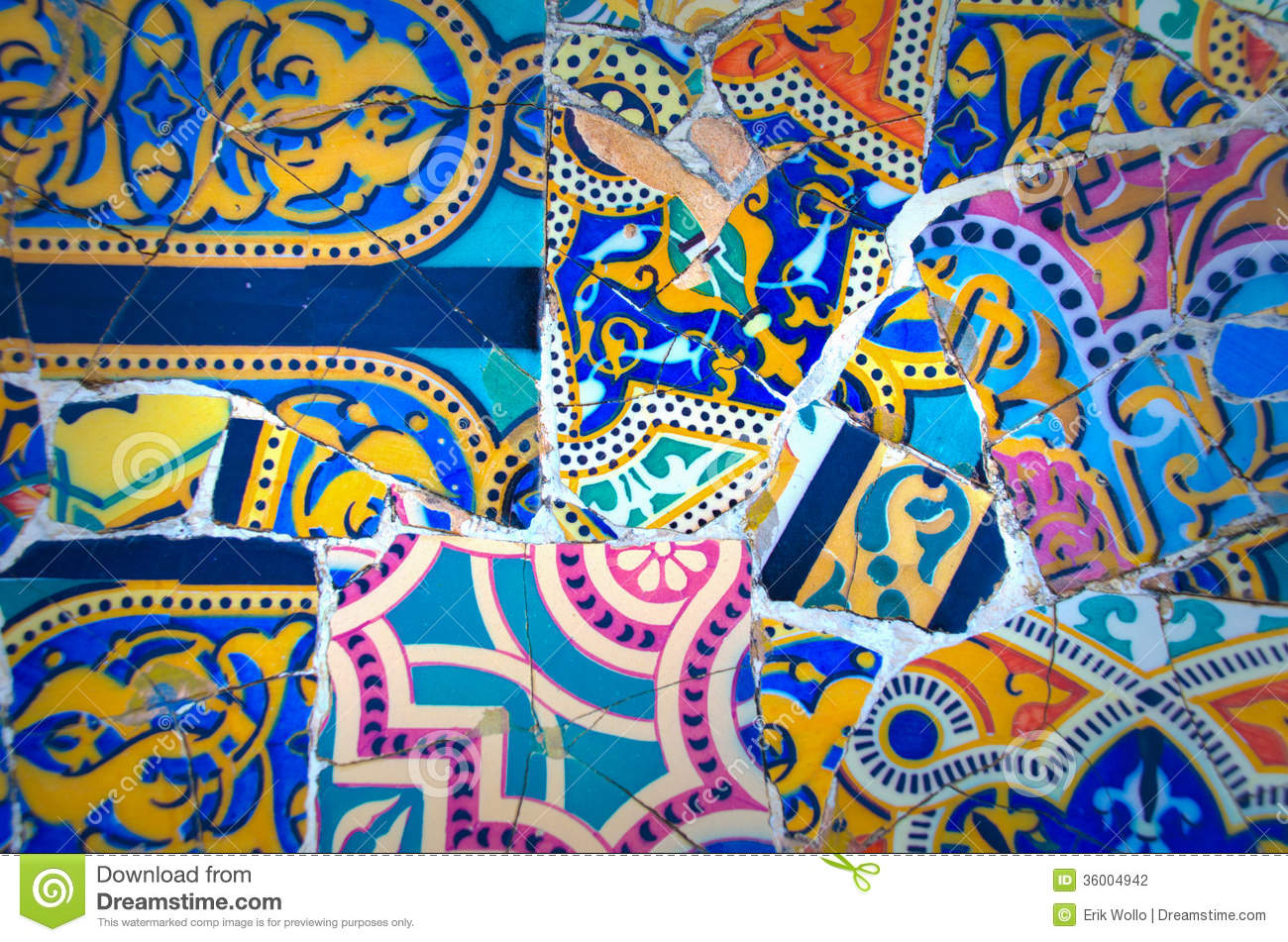 Antoni Gaudi Park Stock Photo Image Of Eyes Color