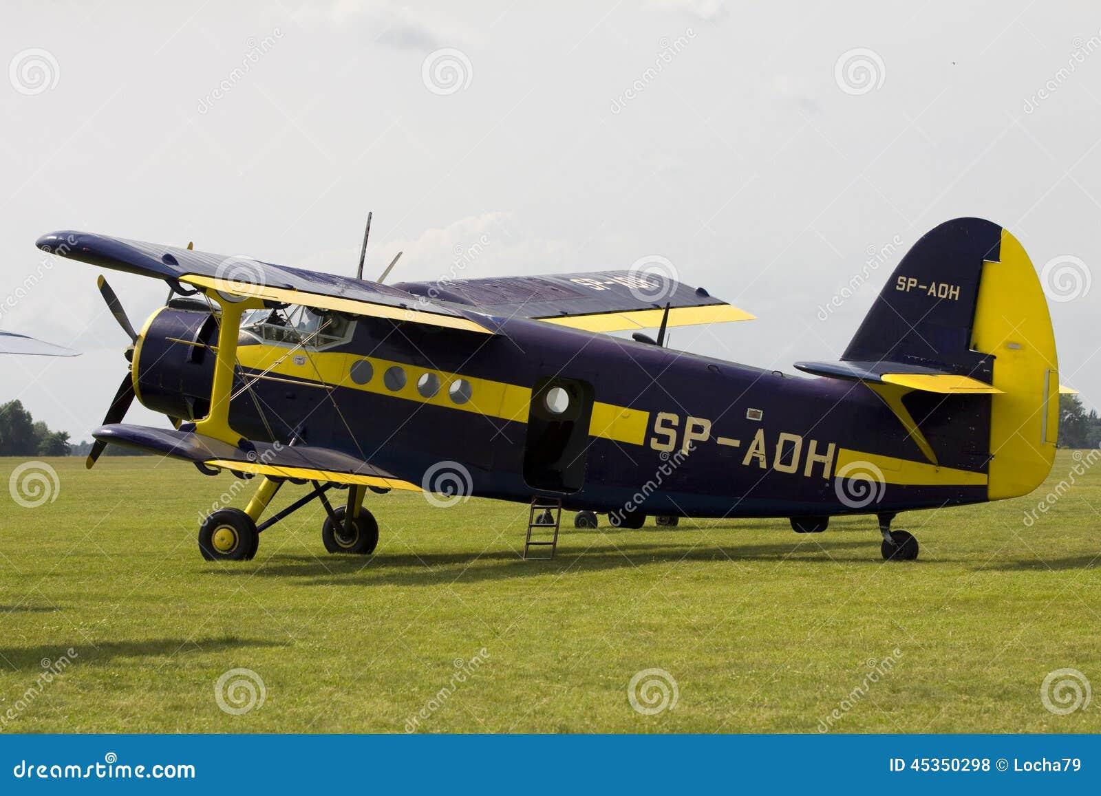 The Antonov An 2 Editorial Stock Photo Image Of Nik