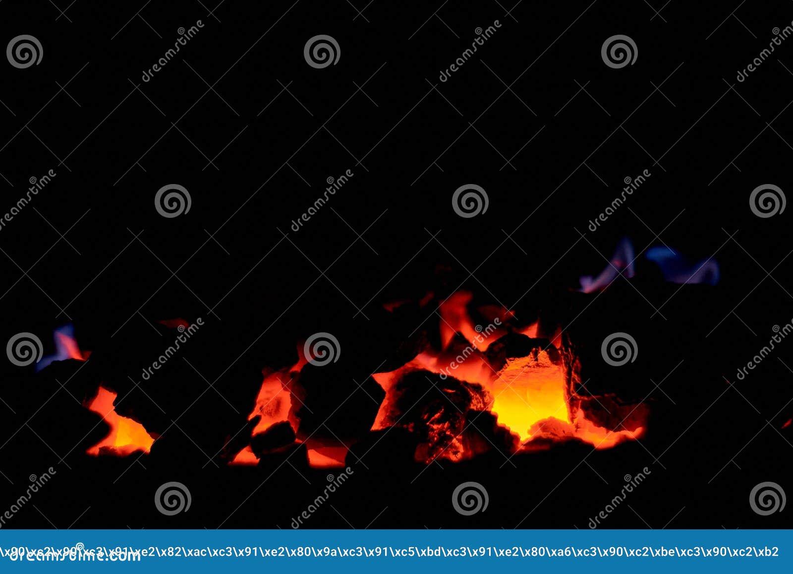 Antracite de carvão Carvão de queimadura na fornalha de uma caldeira do combustível contínuo