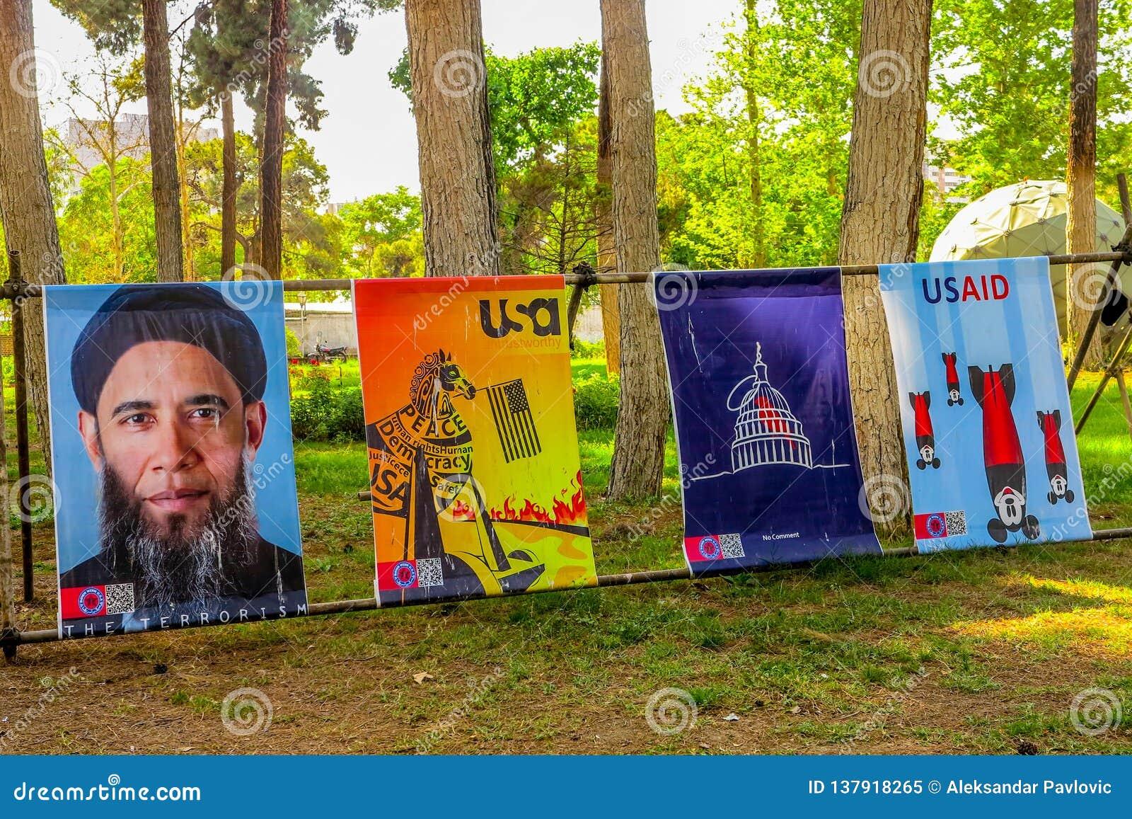 Antro de Tehran E.U. da espionagem 06