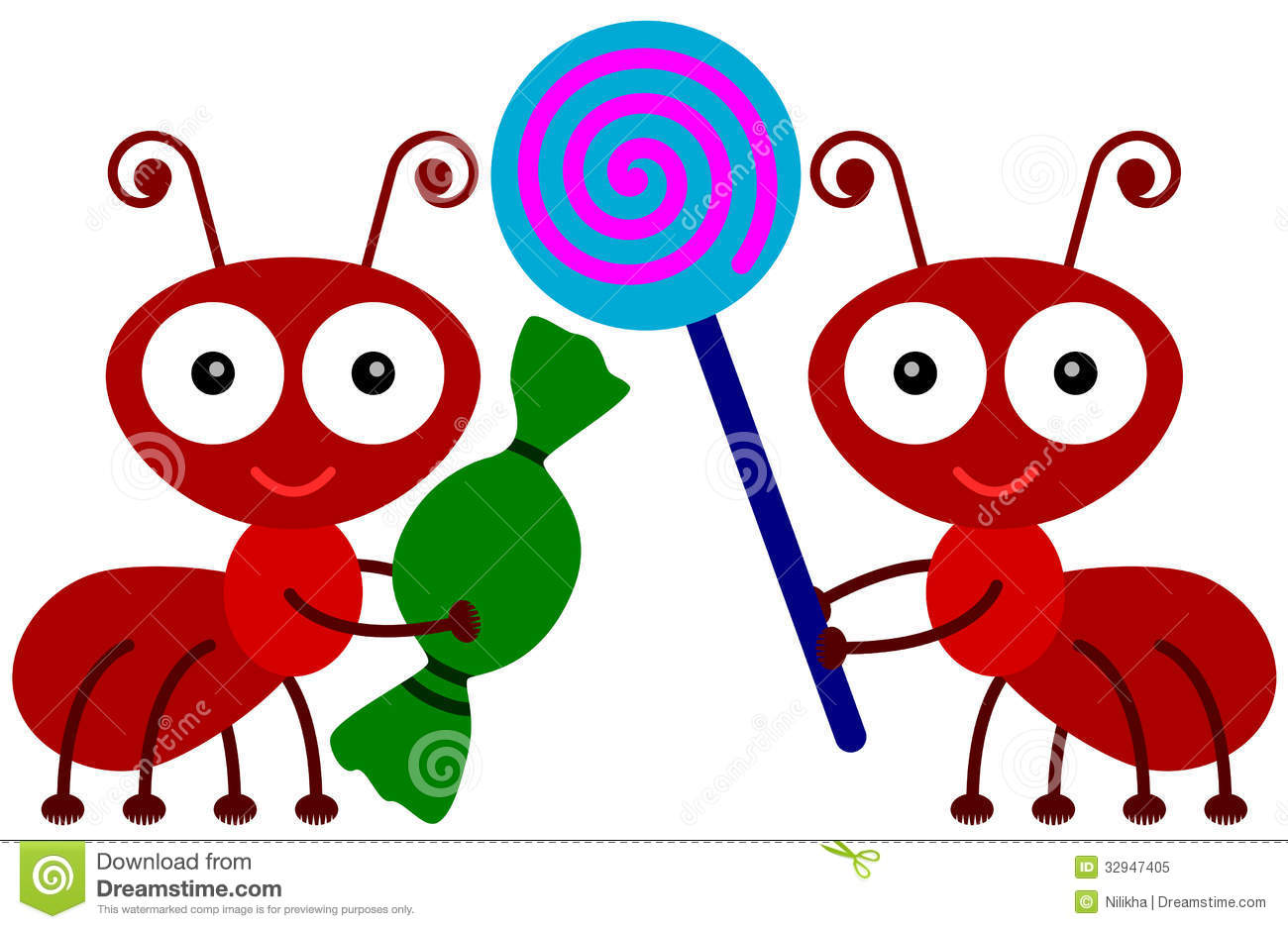 Image result for cartoon ants and candy