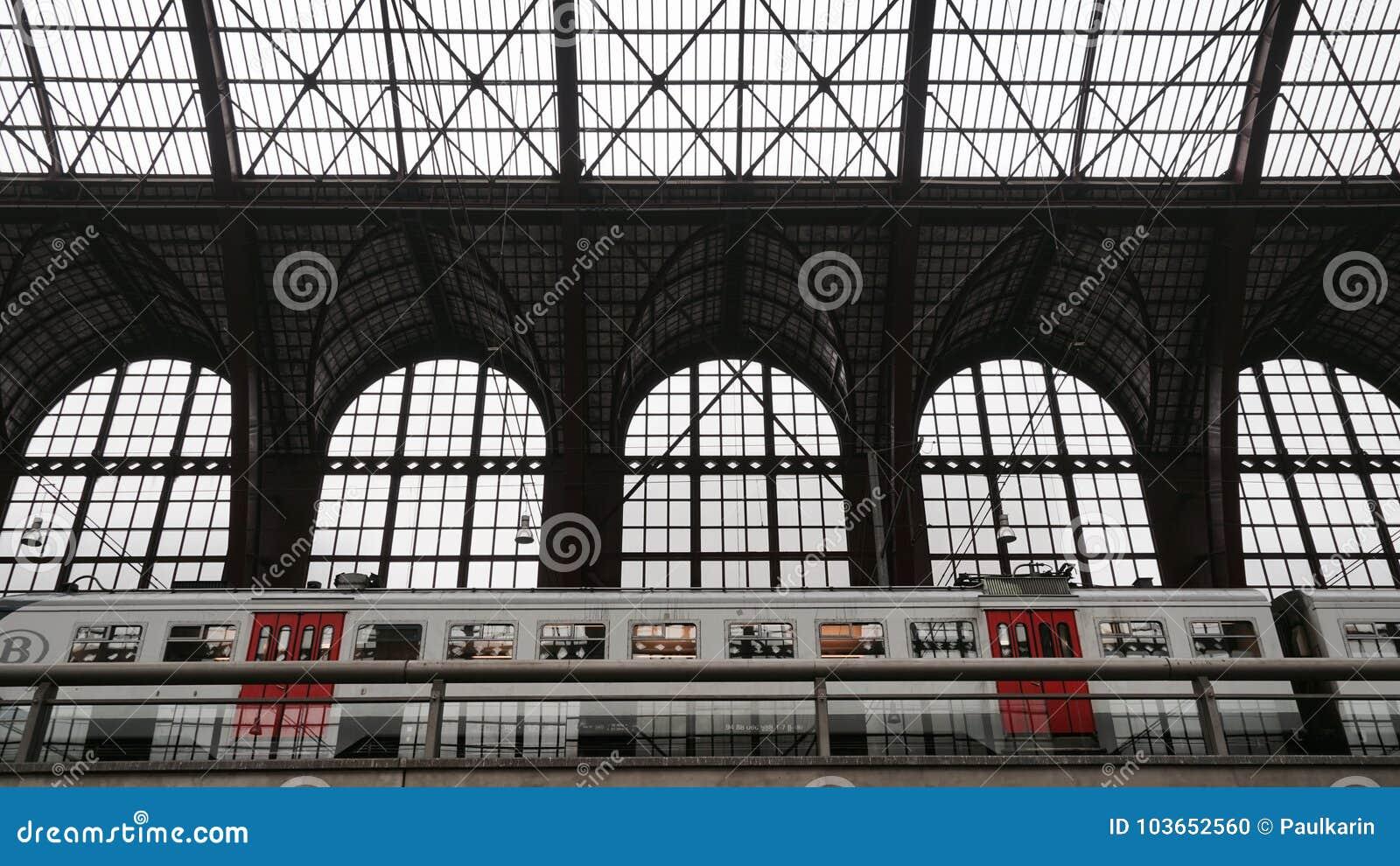 Antwerp central drevstation