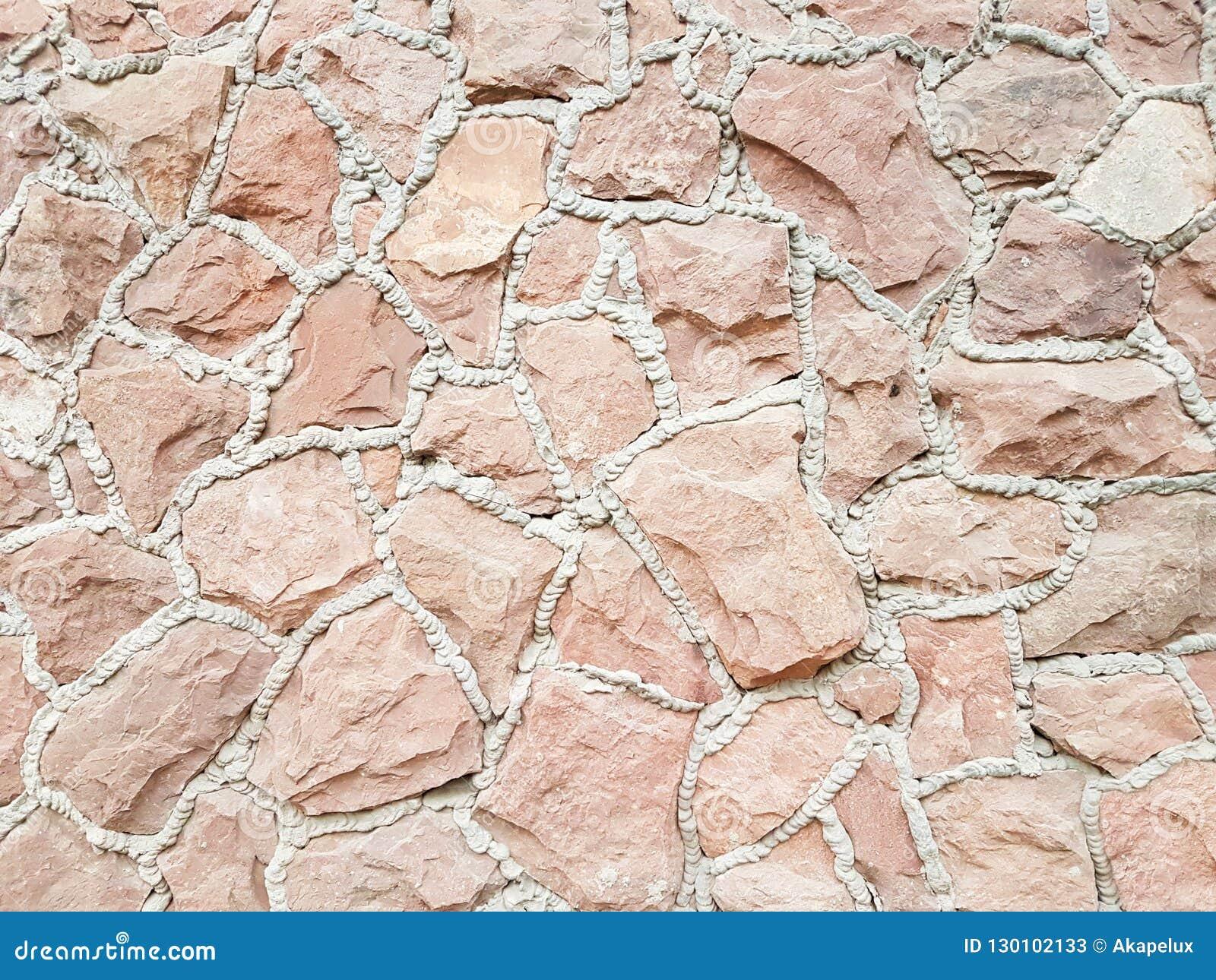 Antyczny średniowieczny kamienny kamieniarstwo Tekstura czerep ściana stara struktura Tło dla projekta i kreatywnie pracy de