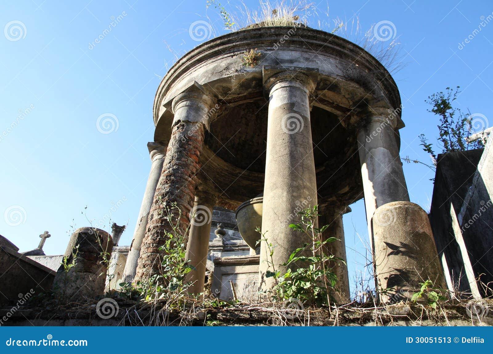 Stary dziejowy cmentarniany Recoleta. Buenos Aires, Argentyna.