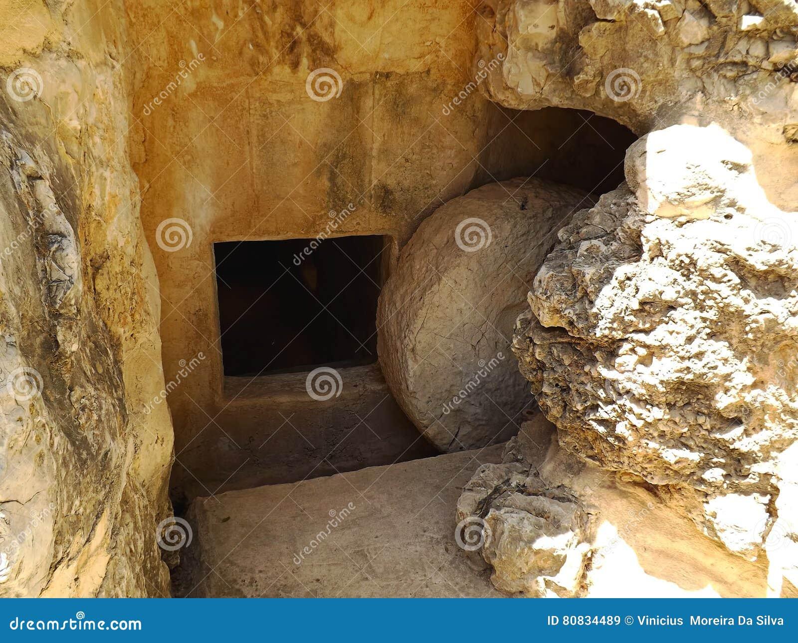 Antyczny grobowiec w Yad Hashmona, Izrael