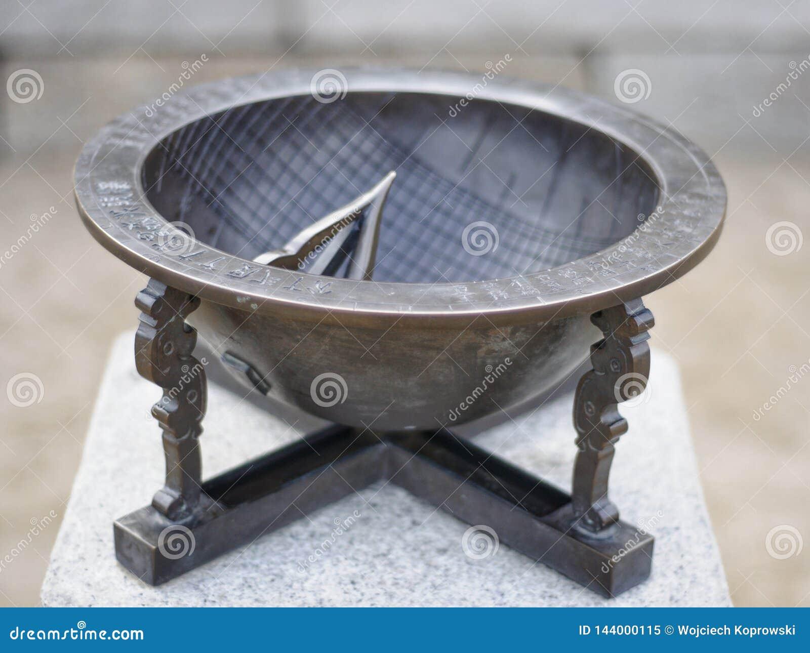 Antyczny metalu sundial