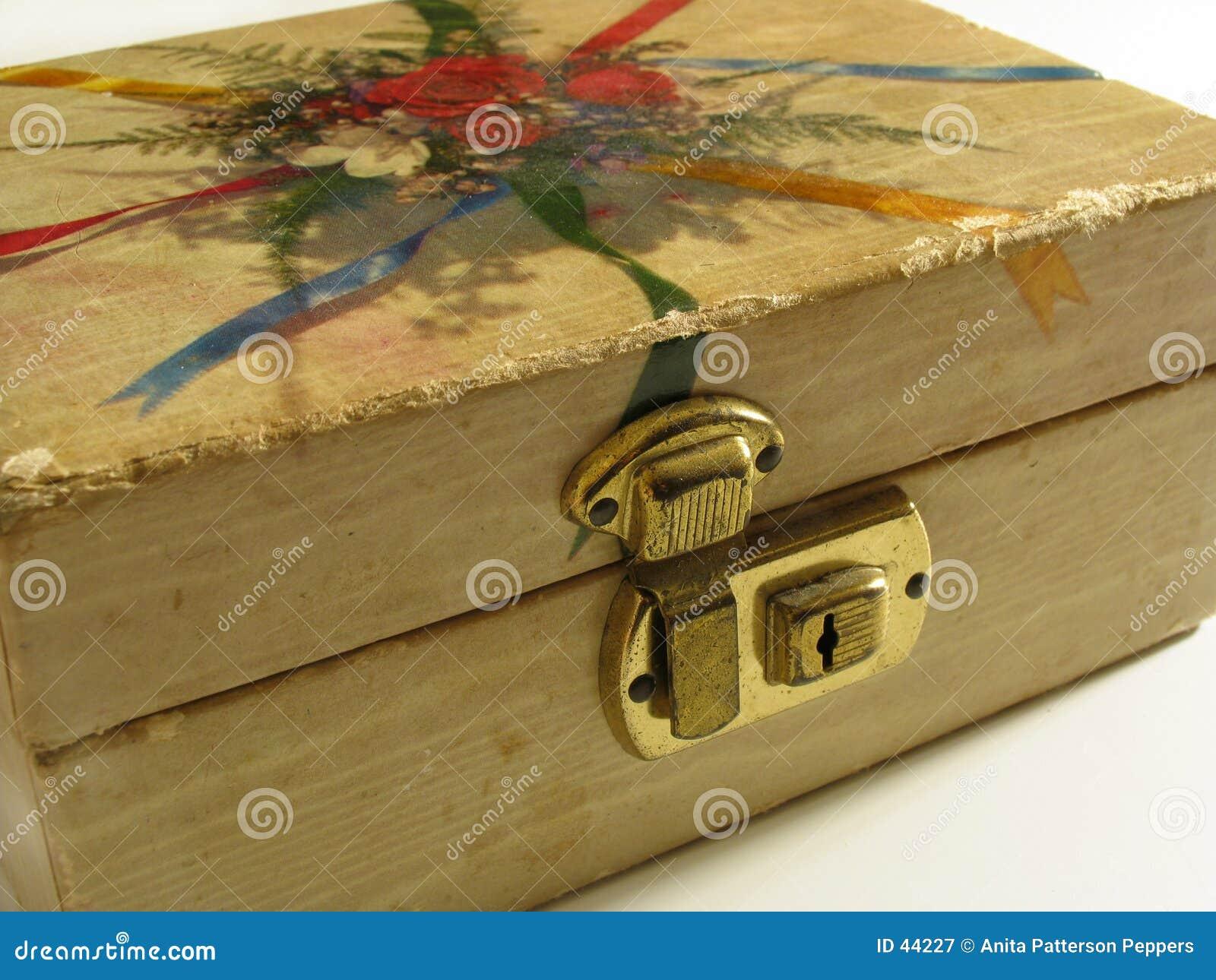 Antyk pudełkowata biżuteria