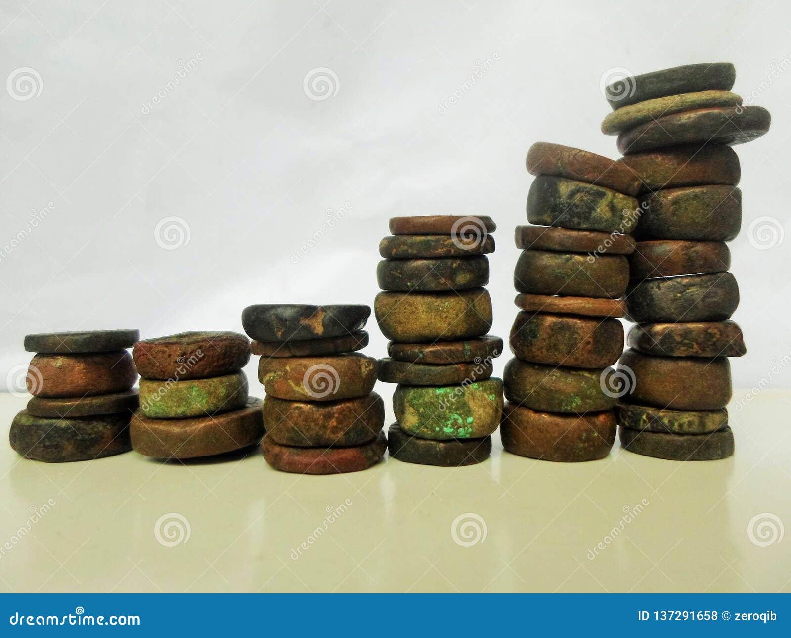 Antyka kamień ukuwa nazwę wykres
