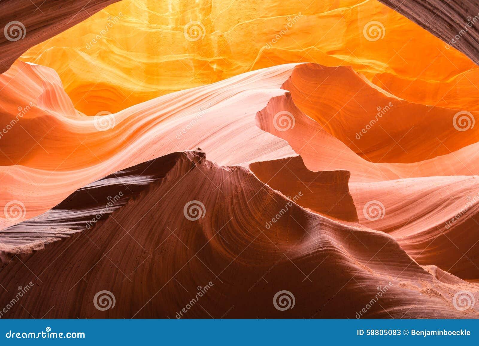 Antylopa jar, Arizona, usa, Jeziorny Powell